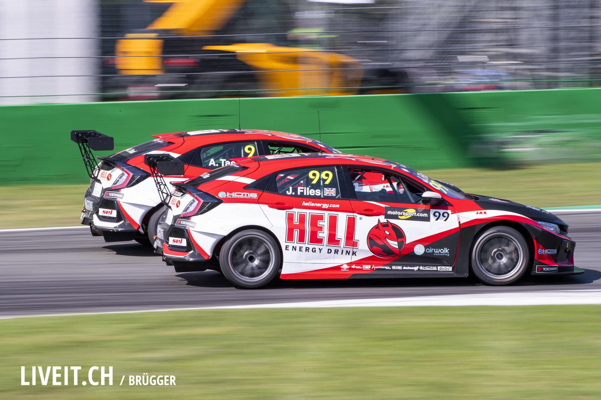 TCR Europe, Race 2 am Sonntag 23. September 2018 in Monza (Fotografiert von Dominic Bruegger für liveit.ch)