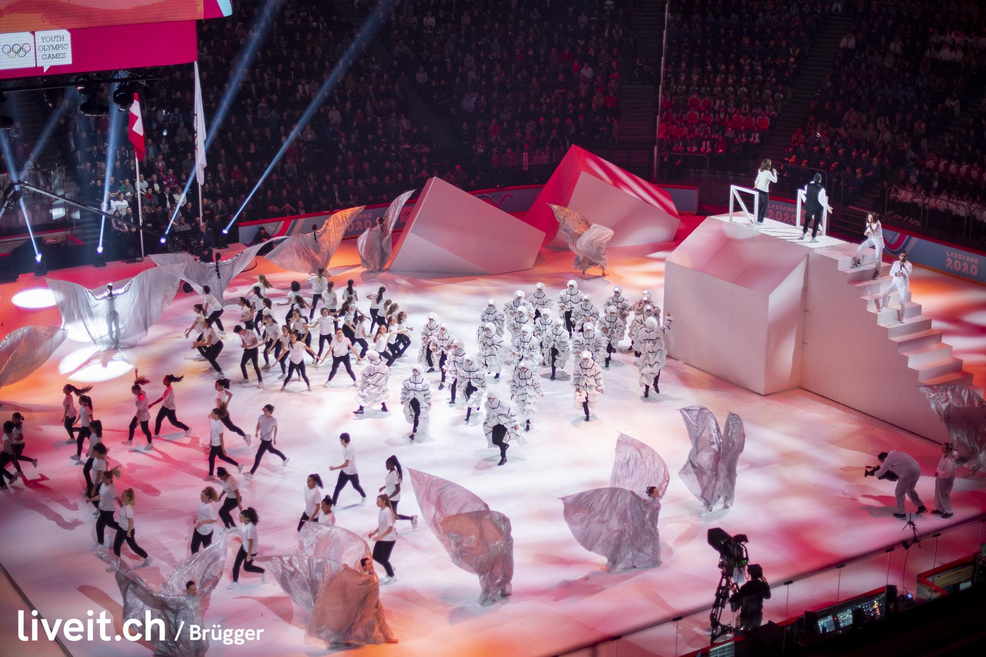 SWITZERLAND YOG LAUSANNE 2020 OPENING CEREMONY