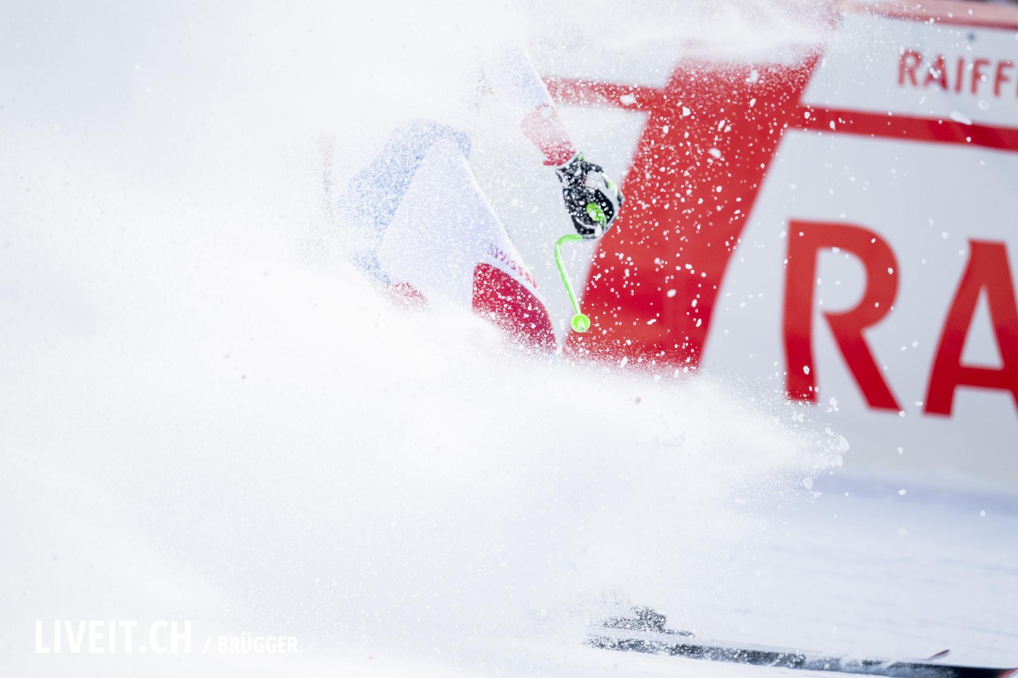 Carlo Janka (SUI) fotografiert am Freitag, 18. Januar 2019 am Lauberhornrennen in der Disziplin: Slalom Alpine Kombination. (Fotografiert von Dominic Bruegger liveit.ch)