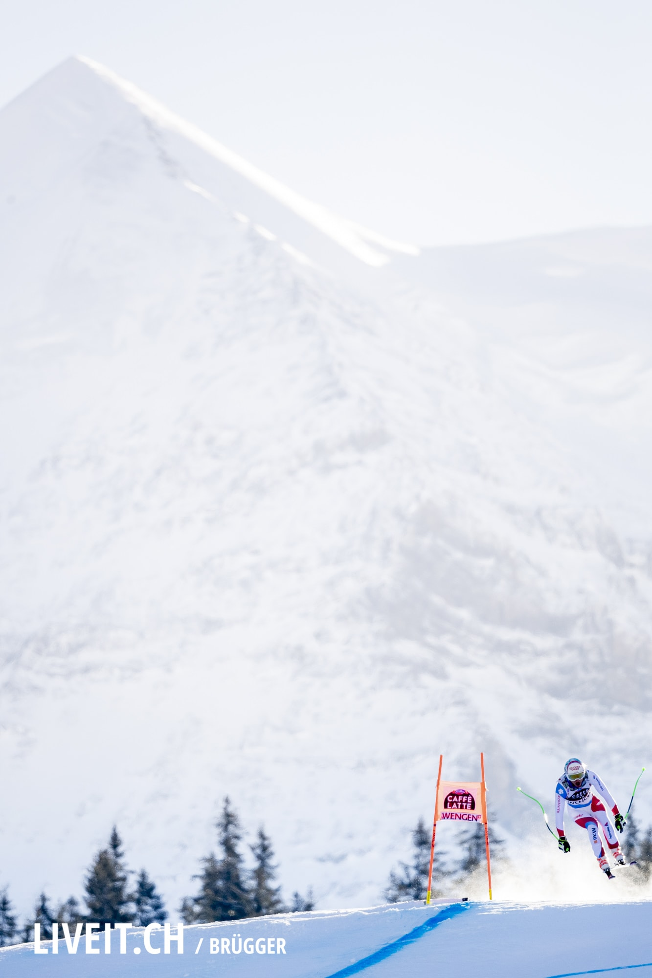 Carlo Janka (SUI) fotografiert am Samstag, 19. Januar 2019 am Lauberhornrennen in der Disziplin: Abfahrt. (Fotografiert von Dominic Bruegger liveit.ch)