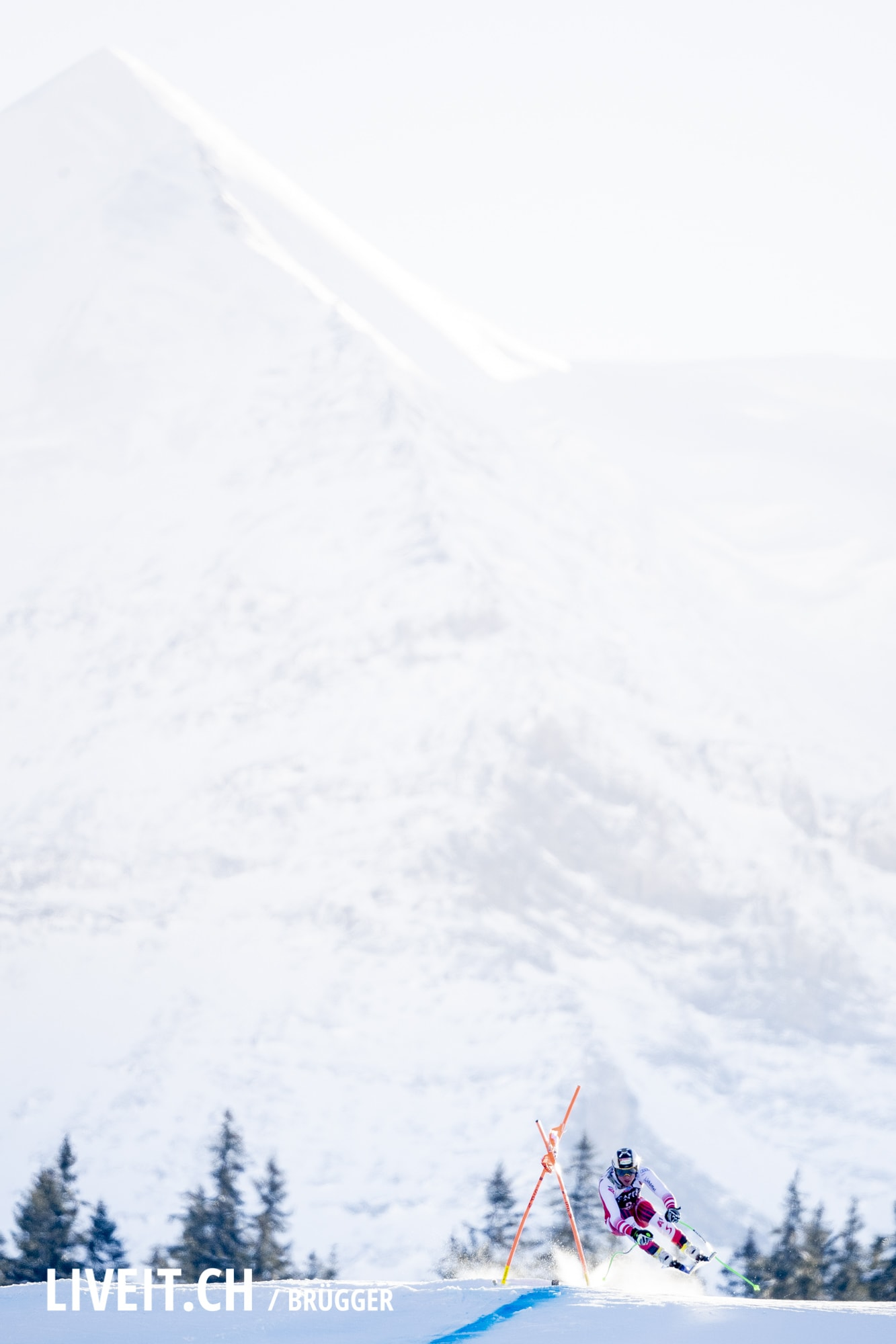 Hannes Reichelt (AUT) fotografiert am Samstag, 19. Januar 2019 am Lauberhornrennen in der Disziplin: Abfahrt. (Fotografiert von Dominic Bruegger liveit.ch)