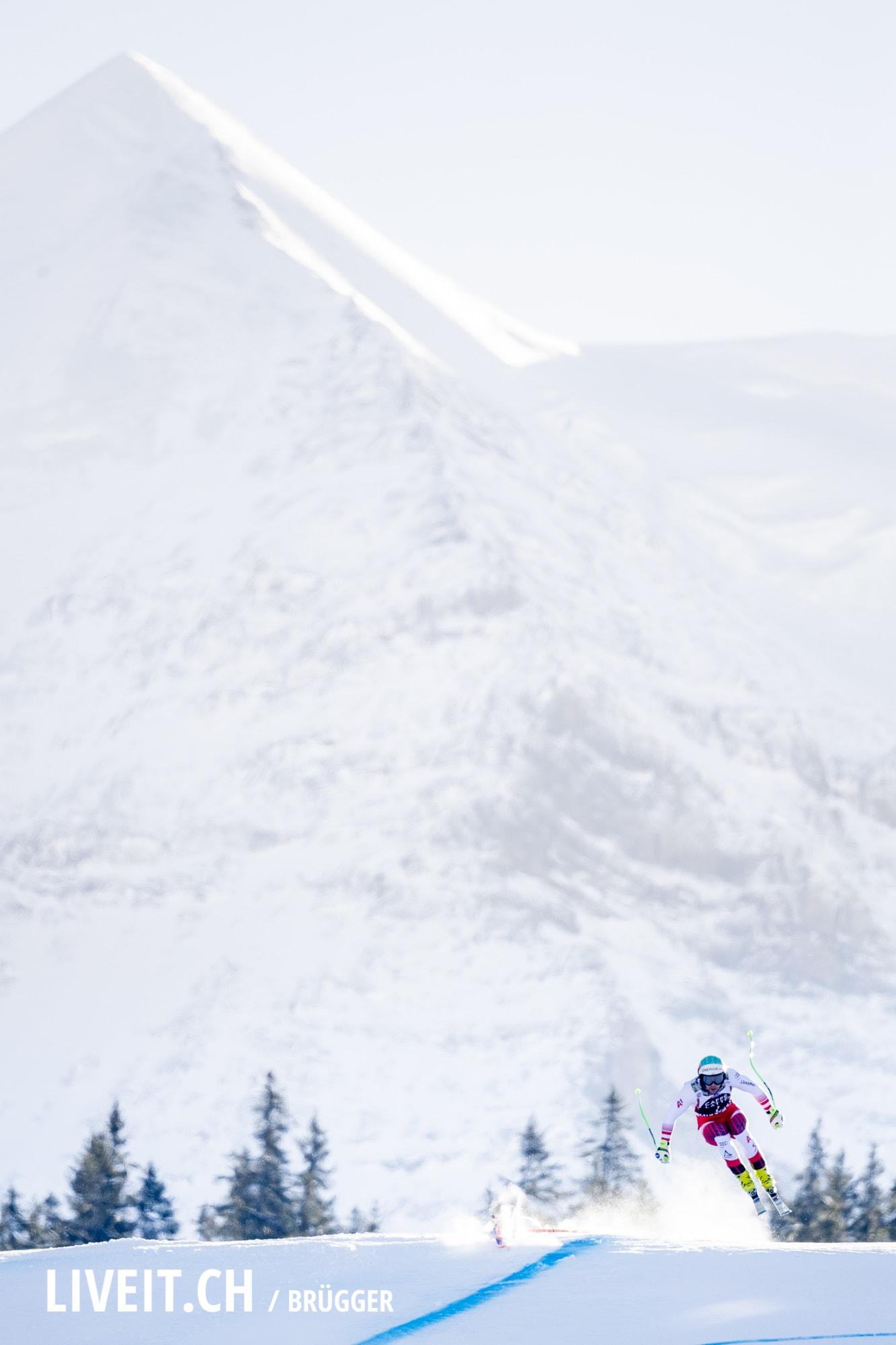 Vincent Kriechmayer (AUT) fotografiert am Samstag, 19. Januar 2019 am Lauberhornrennen in der Disziplin: Abfahrt. (Fotografiert von Dominic Bruegger liveit.ch)