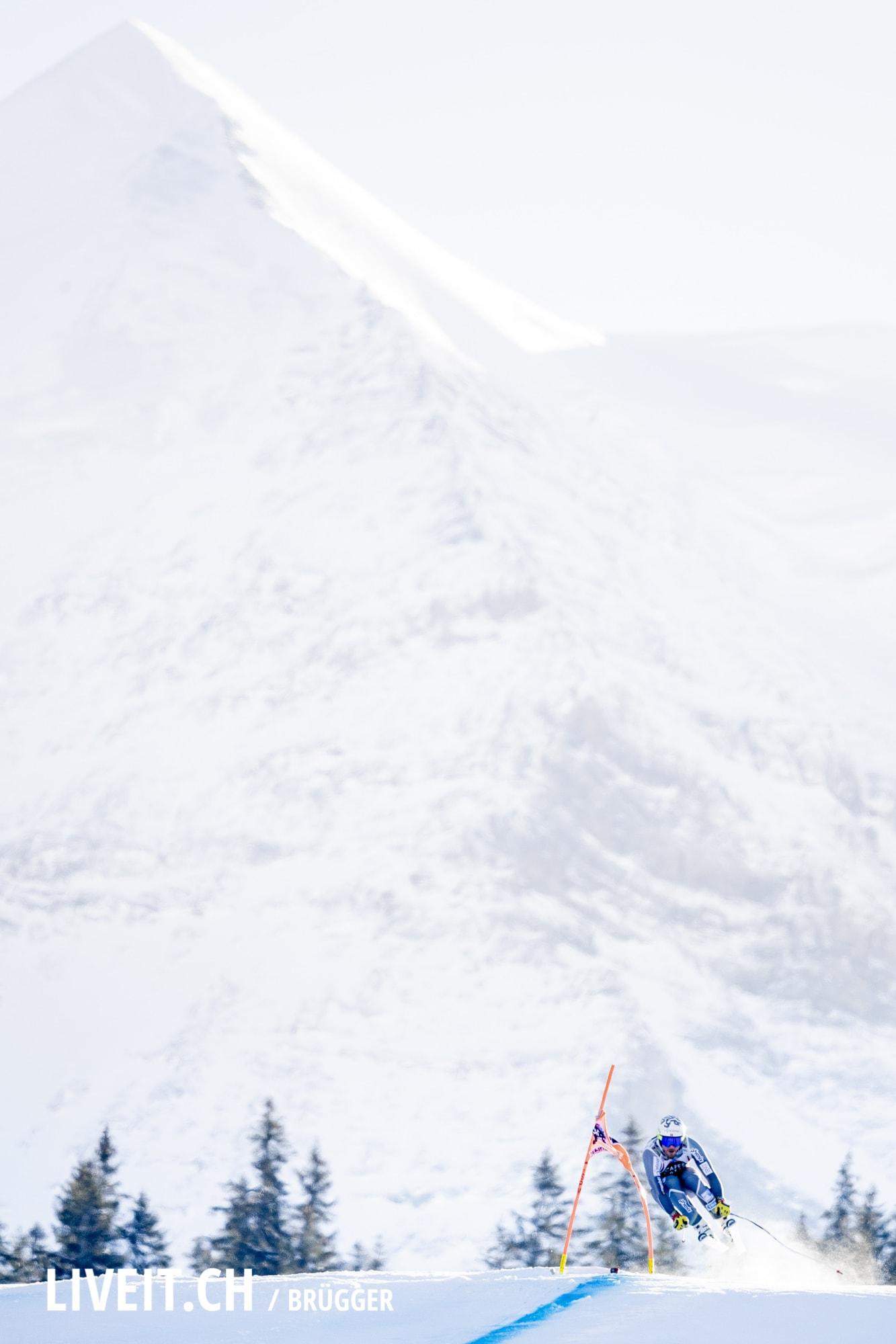 Kjetil Jansrud (NOR) fotografiert am Samstag, 19. Januar 2019 am Lauberhornrennen in der Disziplin: Abfahrt. (Fotografiert von Dominic Bruegger liveit.ch)