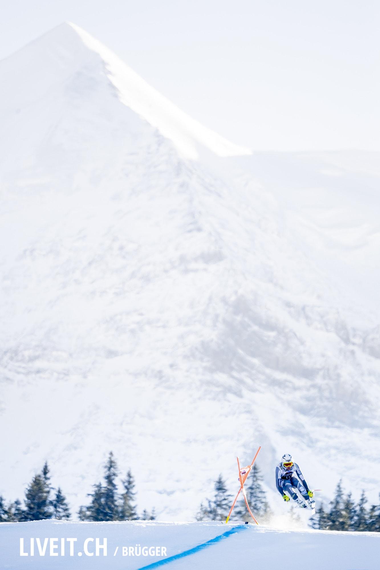 Aleksander Aamodt Kilde (NOR) fotografiert am Samstag, 19. Januar 2019 am Lauberhornrennen in der Disziplin: Abfahrt. (Fotografiert von Dominic Bruegger liveit.ch)