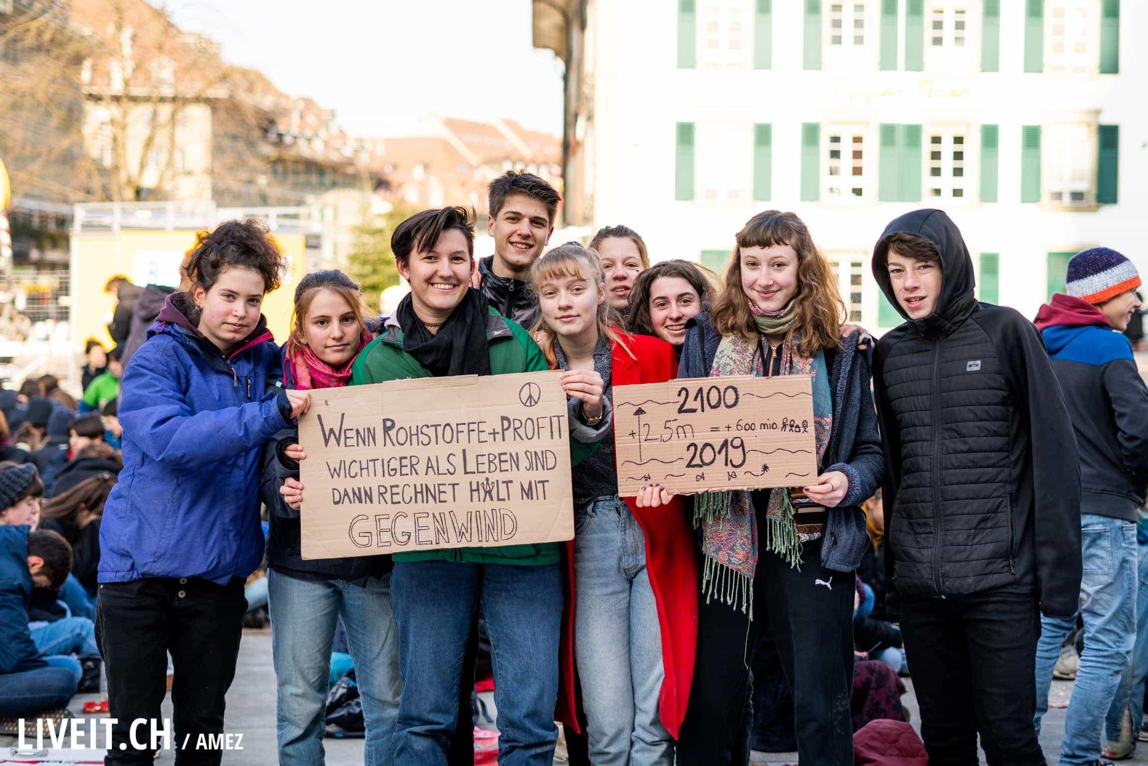 Klimastreik_BernBundesplatz