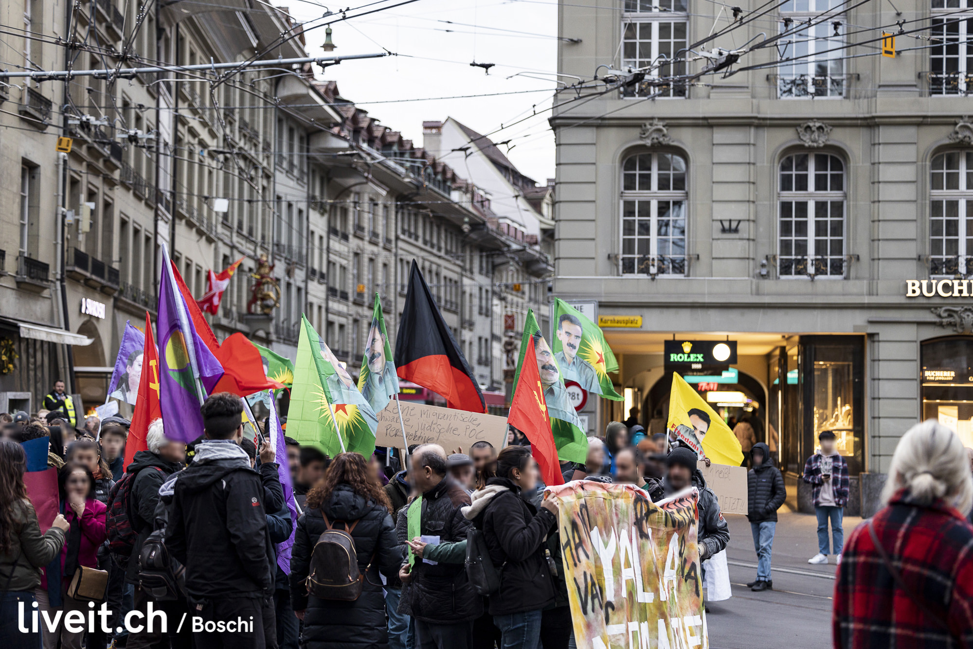 Demonstration in Bern: Solidarität mit Hanau(liveit.ch/boschi)