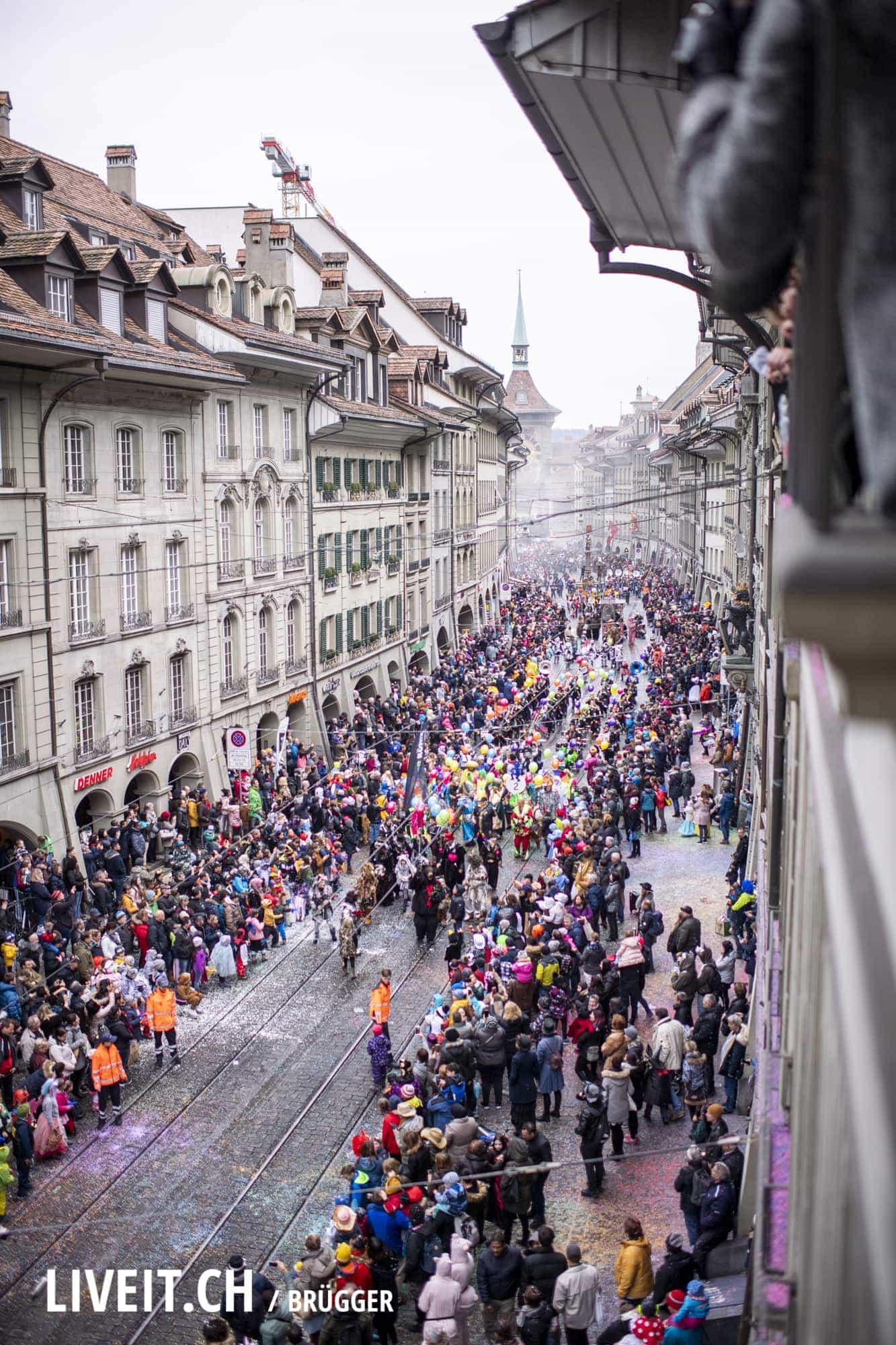 Impressionen der Berner Fasnacht vom Samstag, 09. März 2019 in der Marktgasse. (Fotografiert von Dominic Bruegger für  liveit.ch)