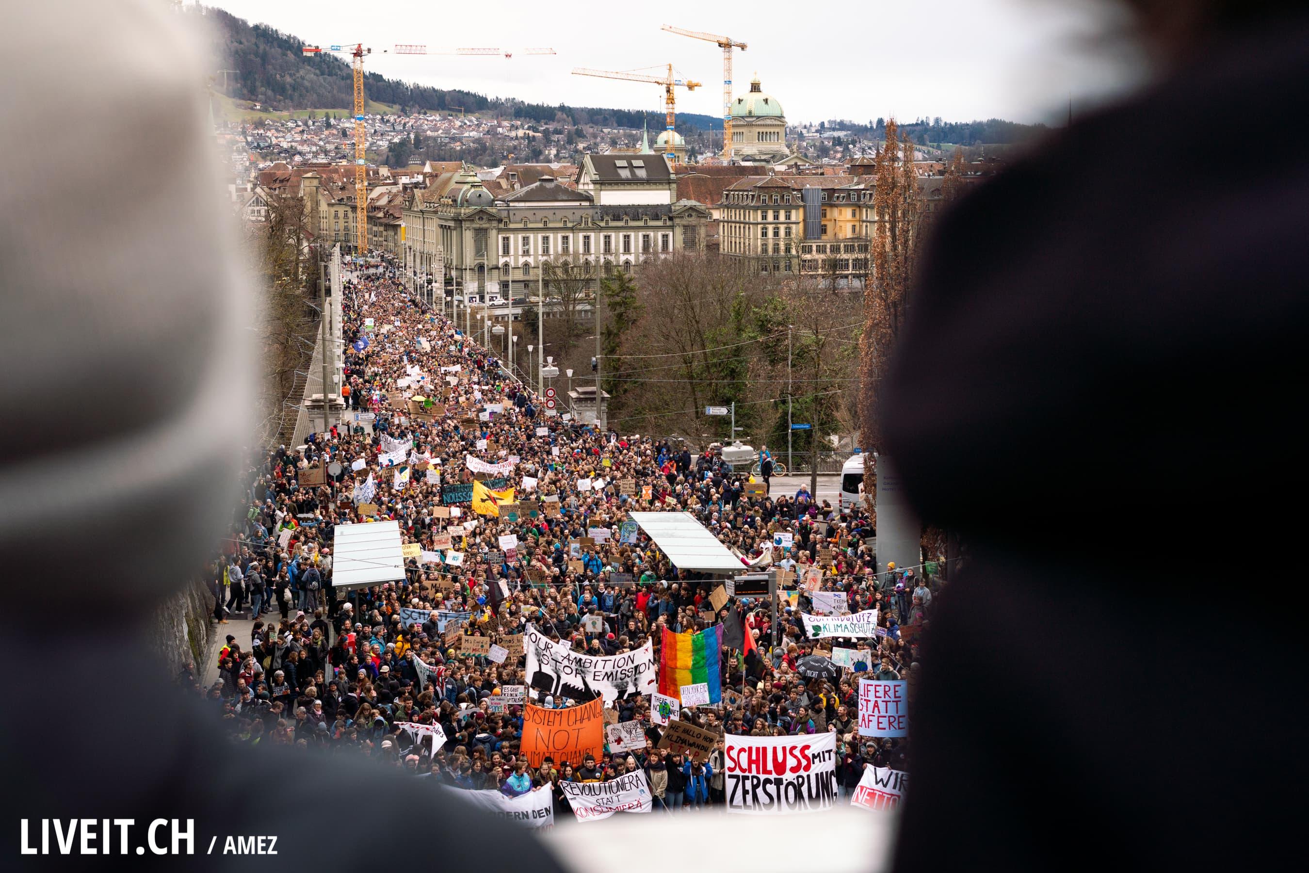 Klimastreik Bern