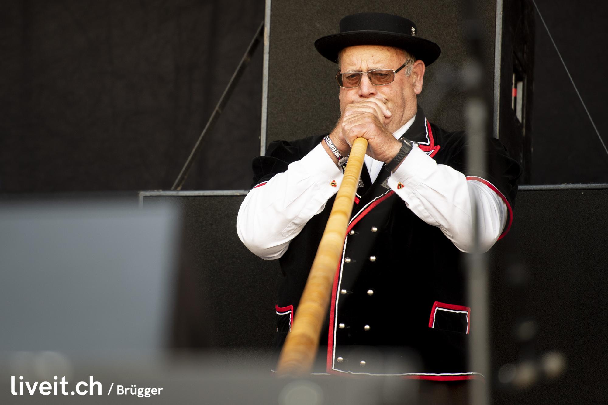 SCHWEIZ GREENFIELD FESTIVAL 2019 Alphornbläser