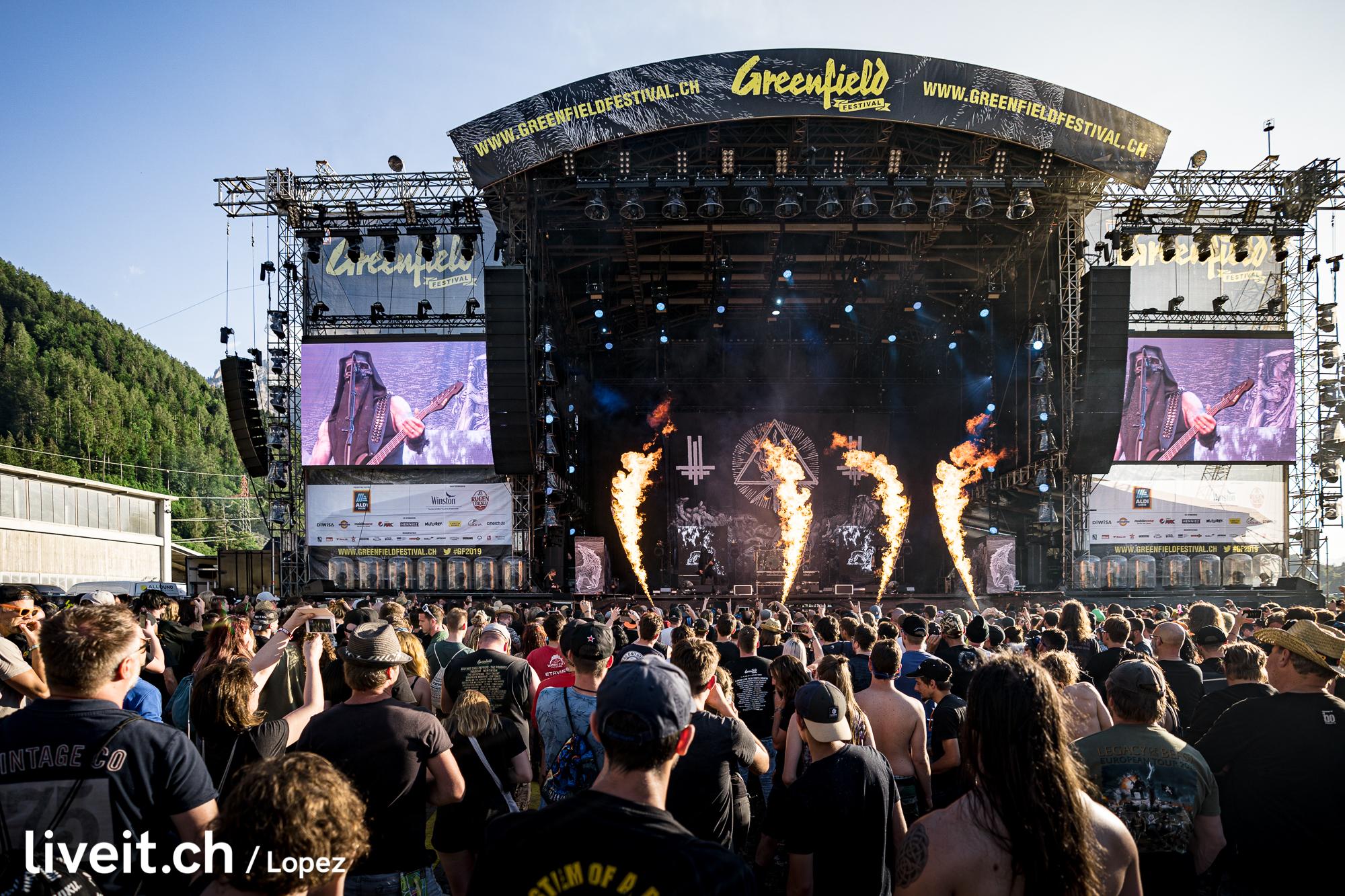 SCHWEIZ GREENFIELD FESTIVAL 2019 Behemoth