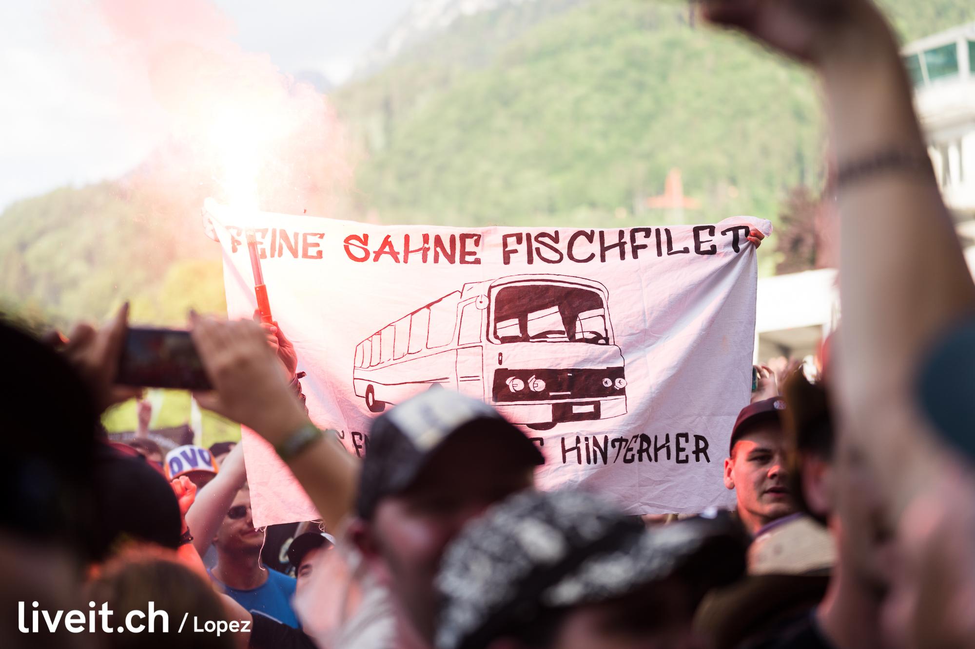 SCHWEIZ GREENFIELD FESTIVAL 2019 Feine Sahne Fischfilet