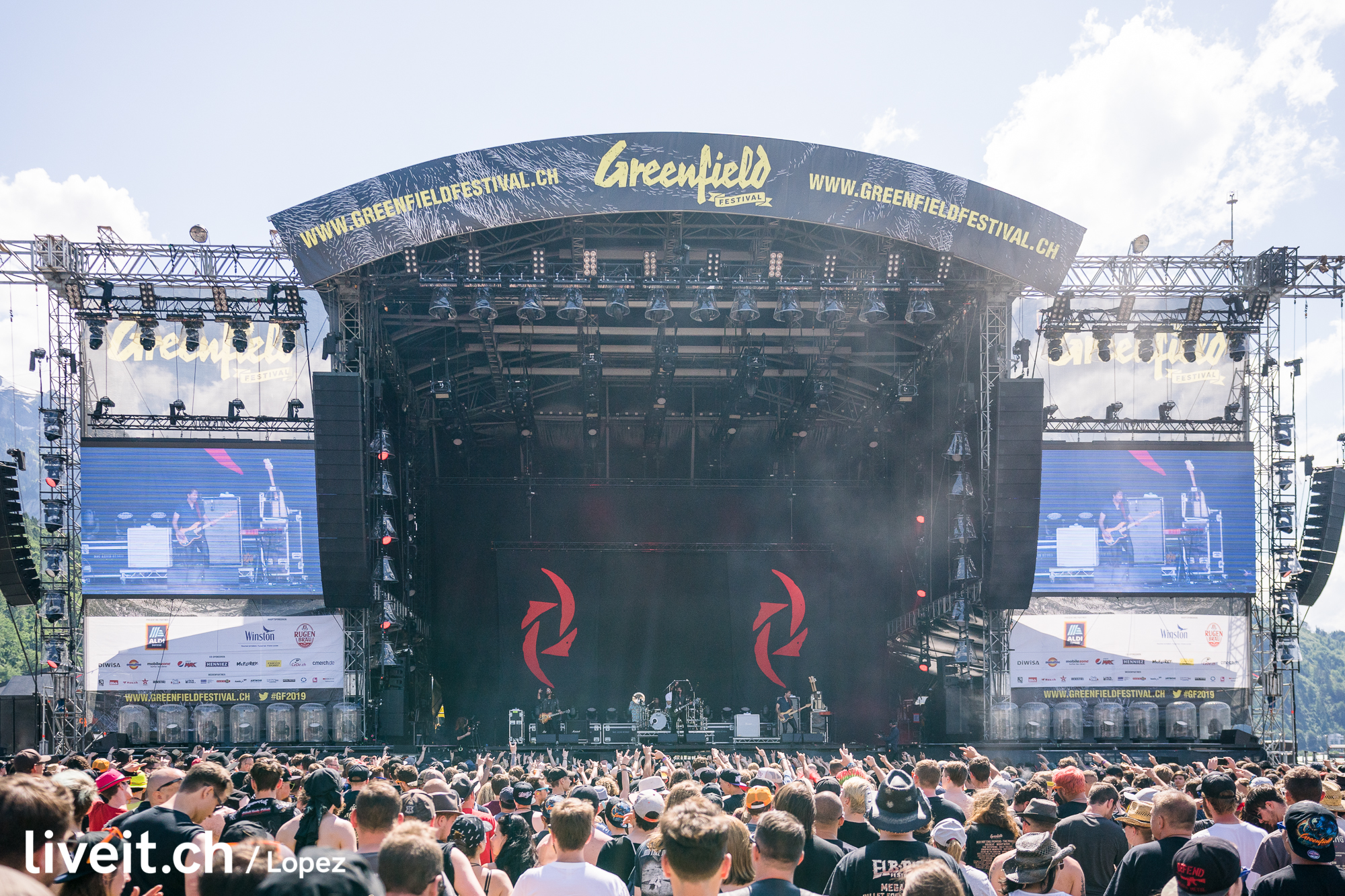 SCHWEIZ GREENFIELD FESTIVAL 2019 Halestorm