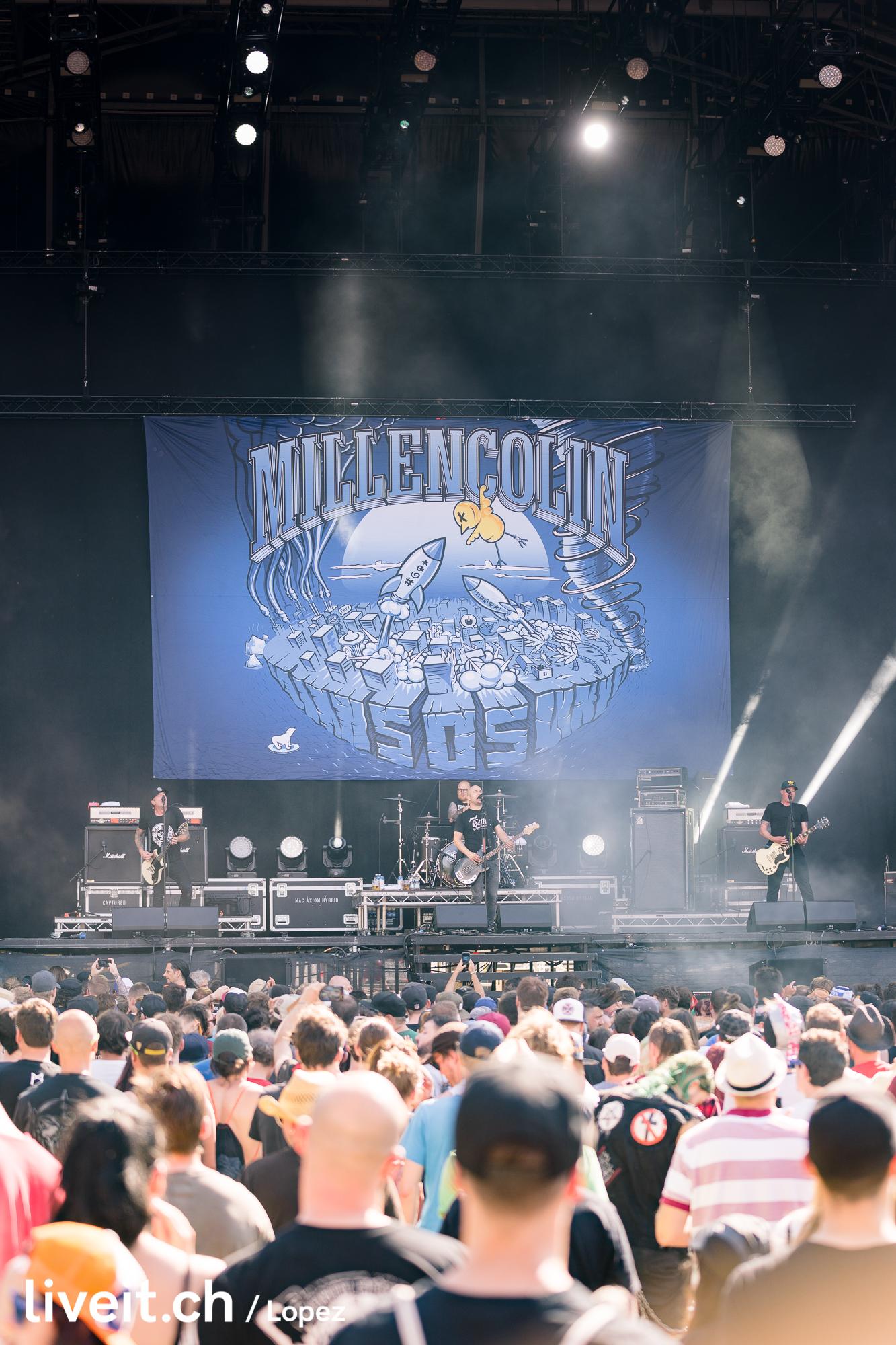 SCHWEIZ GREENFIELD FESTIVAL 2019 Millencolin