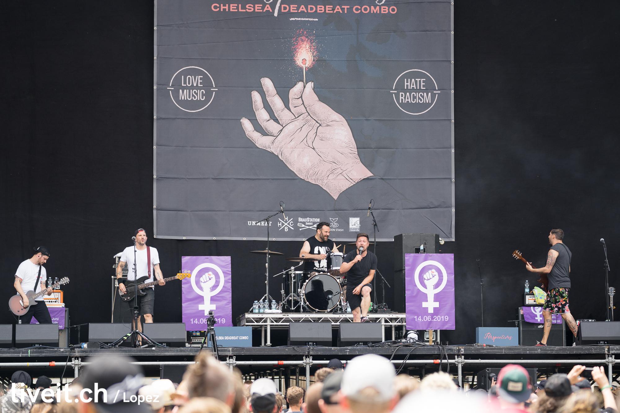 SCHWEIZ GREENFIELD FESTIVAL 2019 Chelsea Deadbeat Combo
