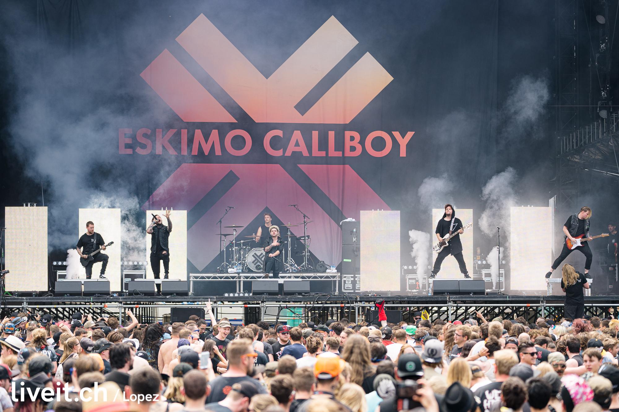 SCHWEIZ GREENFIELD FESTIVAL 2019 Eskimo Callboy