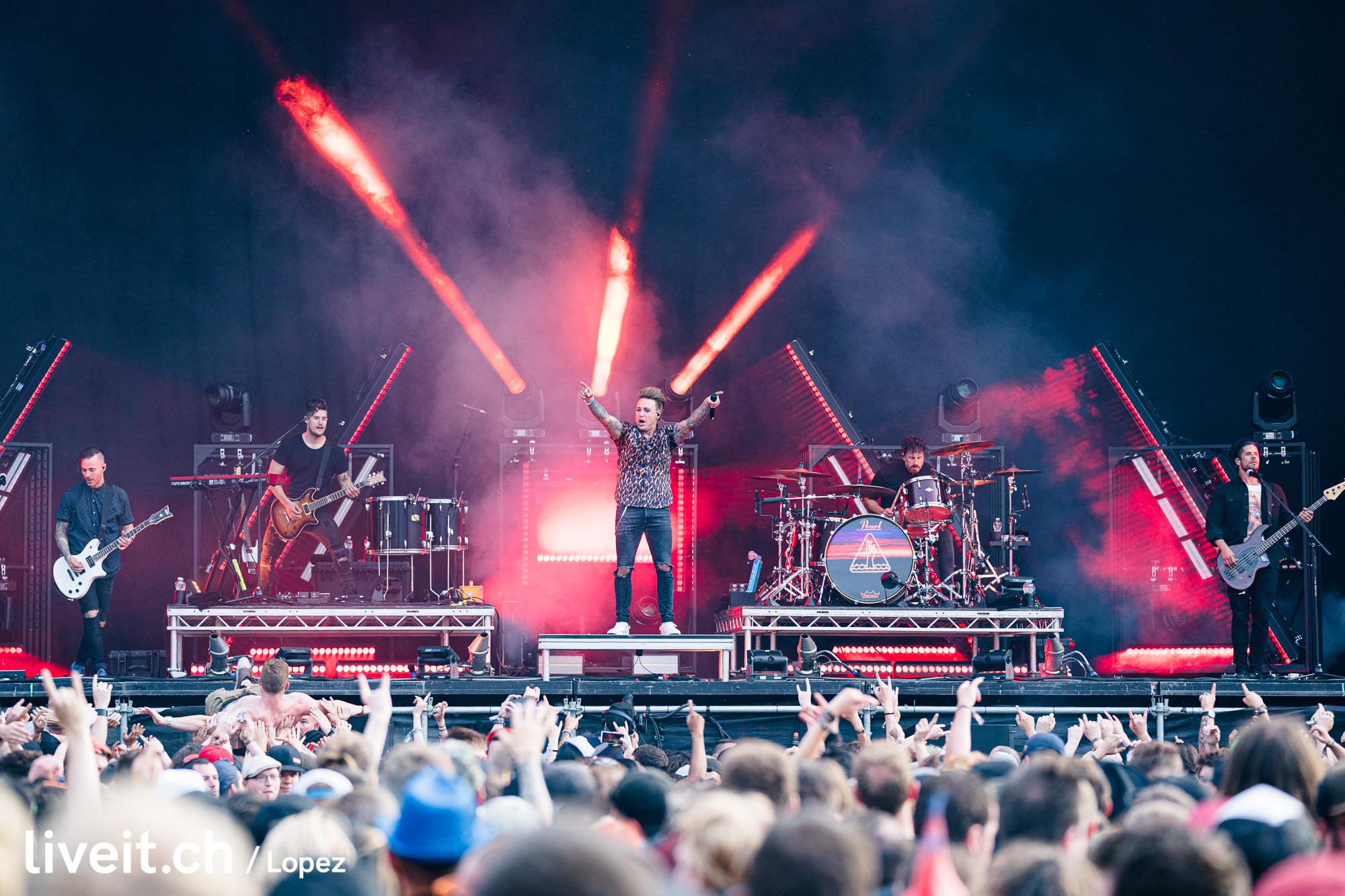 SCHWEIZ GREENFIELD FESTIVAL 2019 Papa Roach