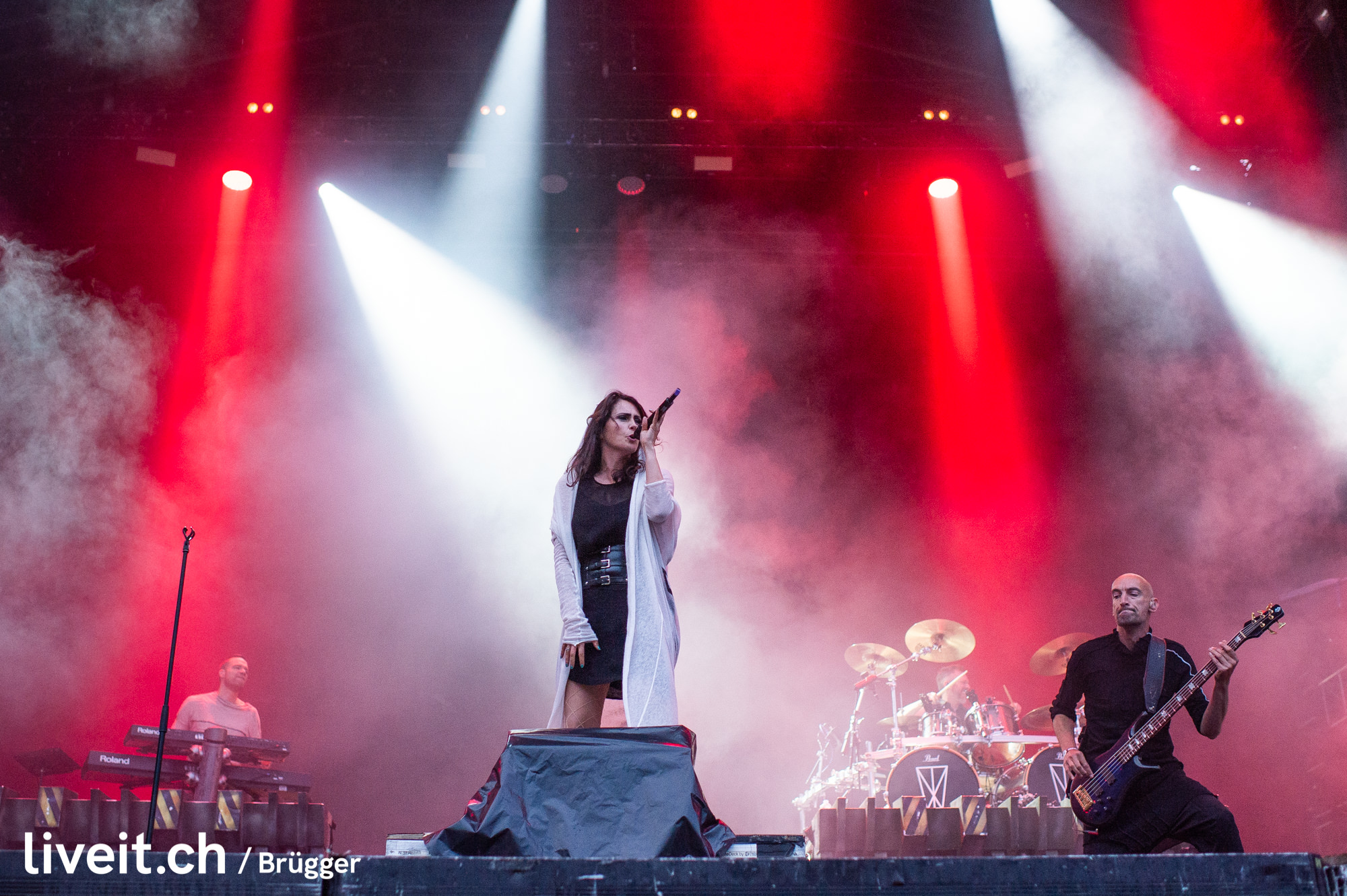 SCHWEIZ GREENFIELD FESTIVAL 2019 Within Temptation