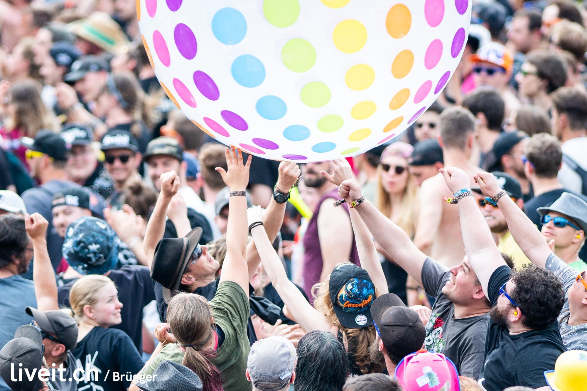 SCHWEIZ GREENFIELD FESTIVAL 2019 Zebrahead
