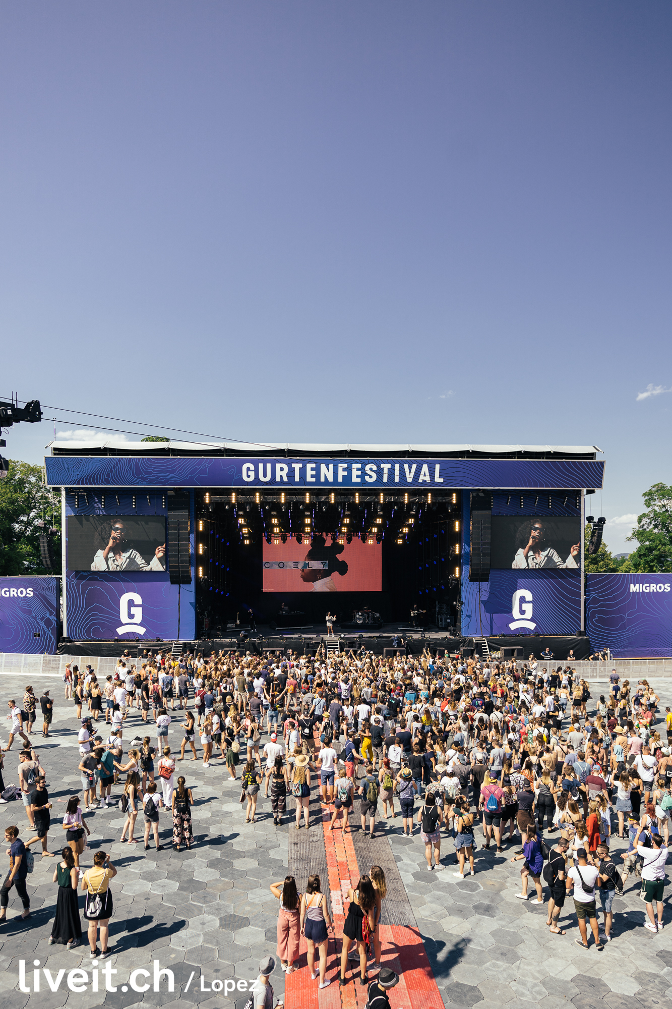 Coely am Gurtenfestival 2019