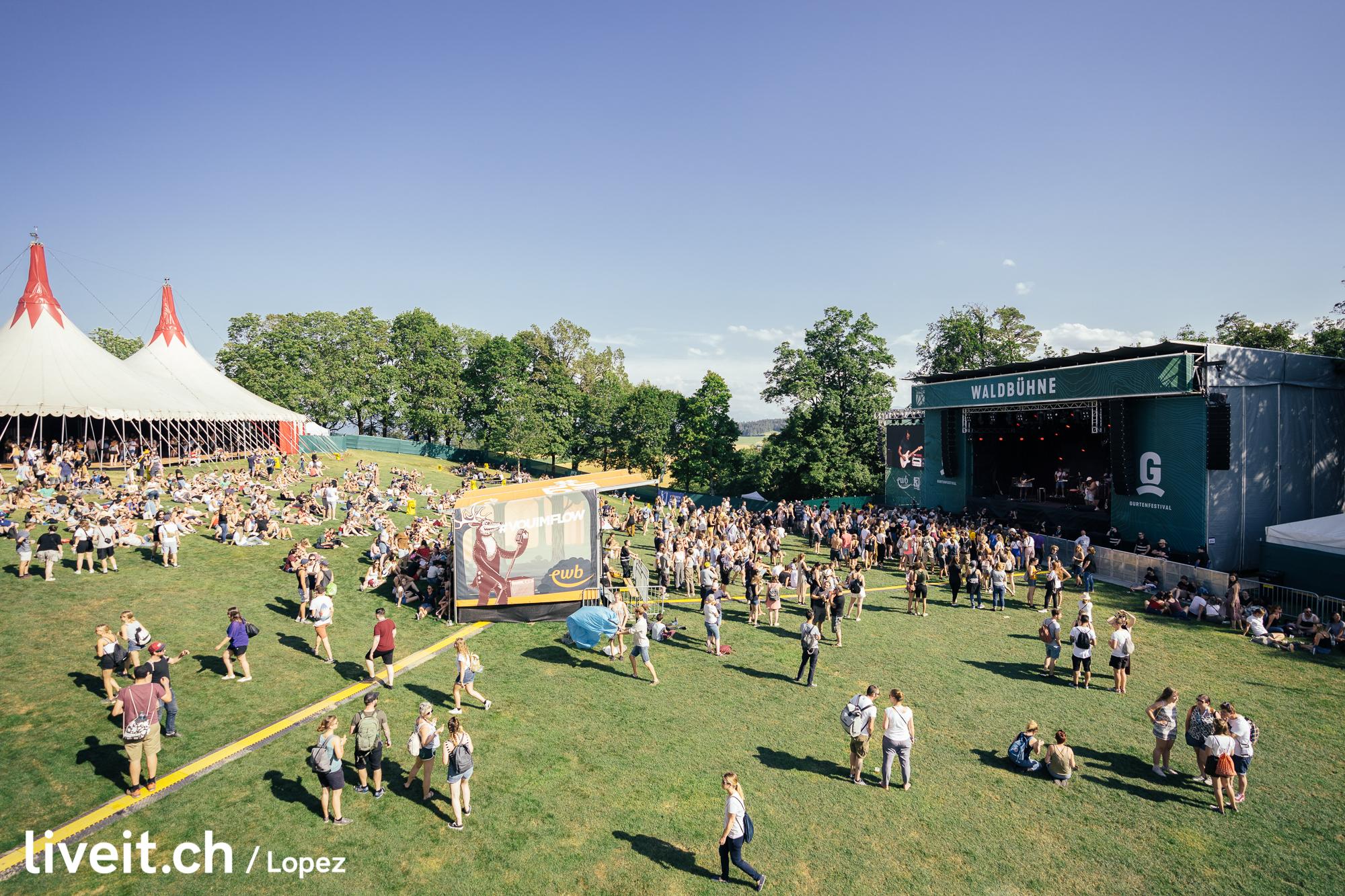 Mnevis am Gurtenfestival 2019