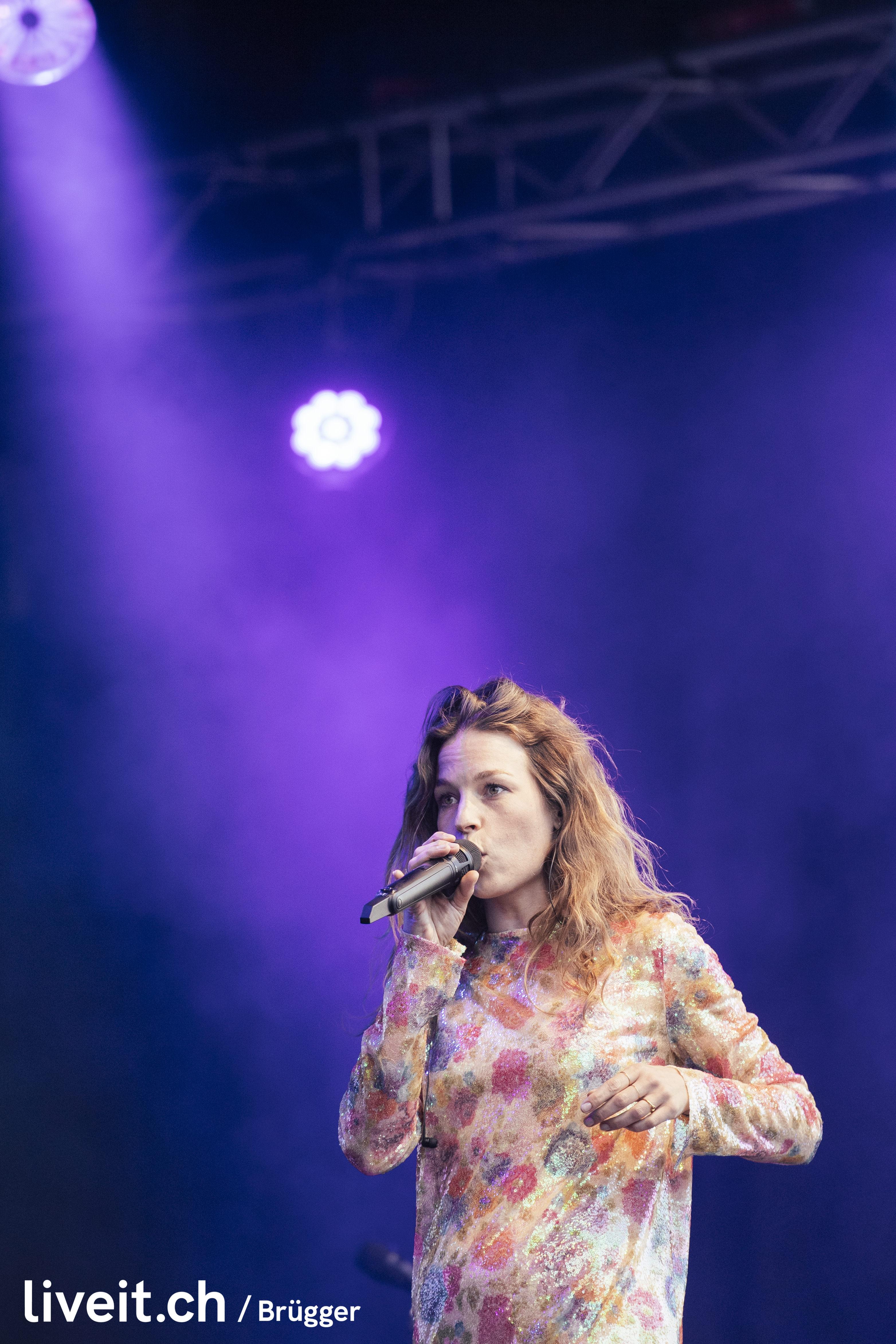 Anna Rossinelli am Gurtenfestival 2019