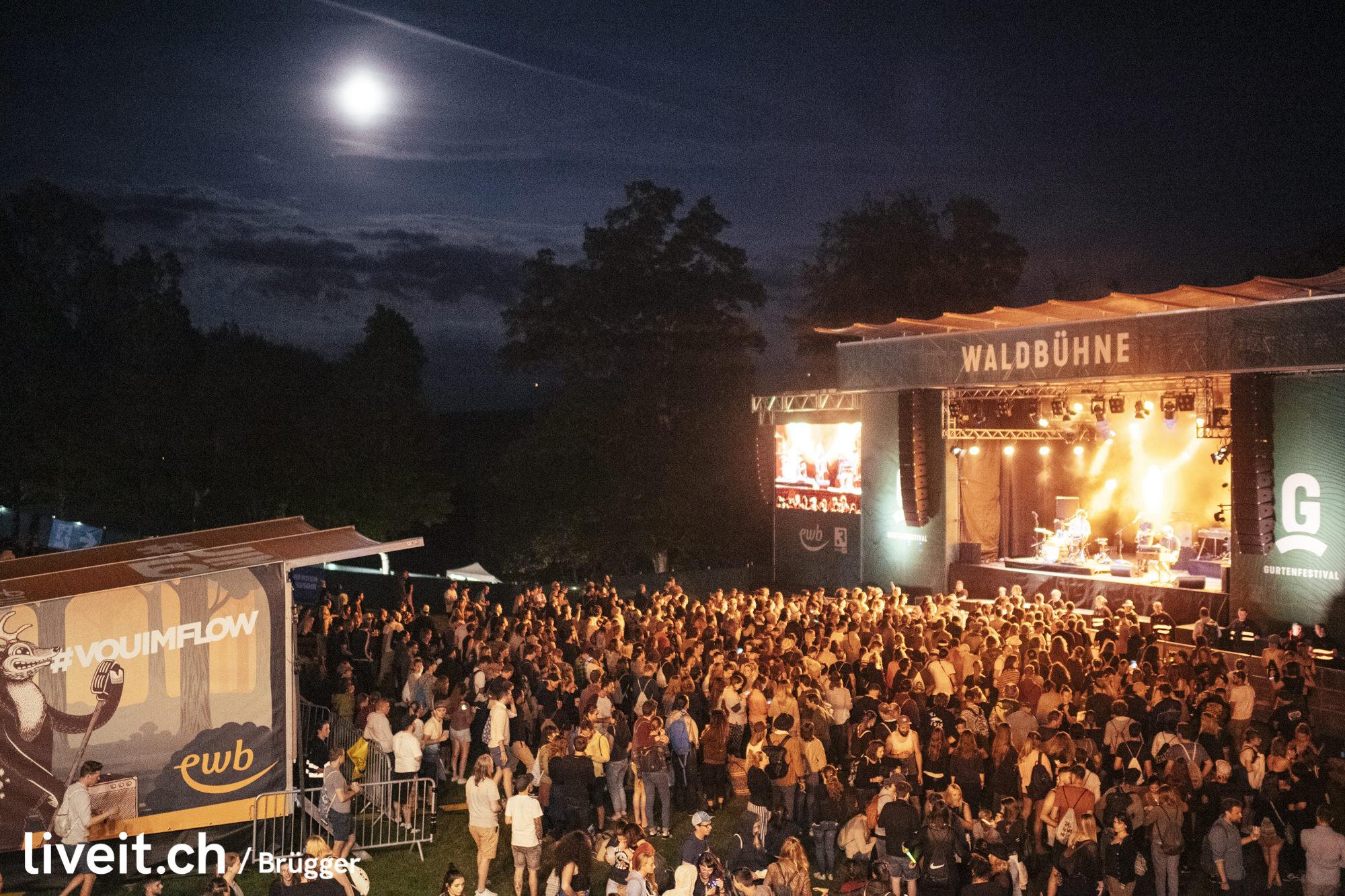 Klaus Johann Grobe am Gurtenfestival 2019