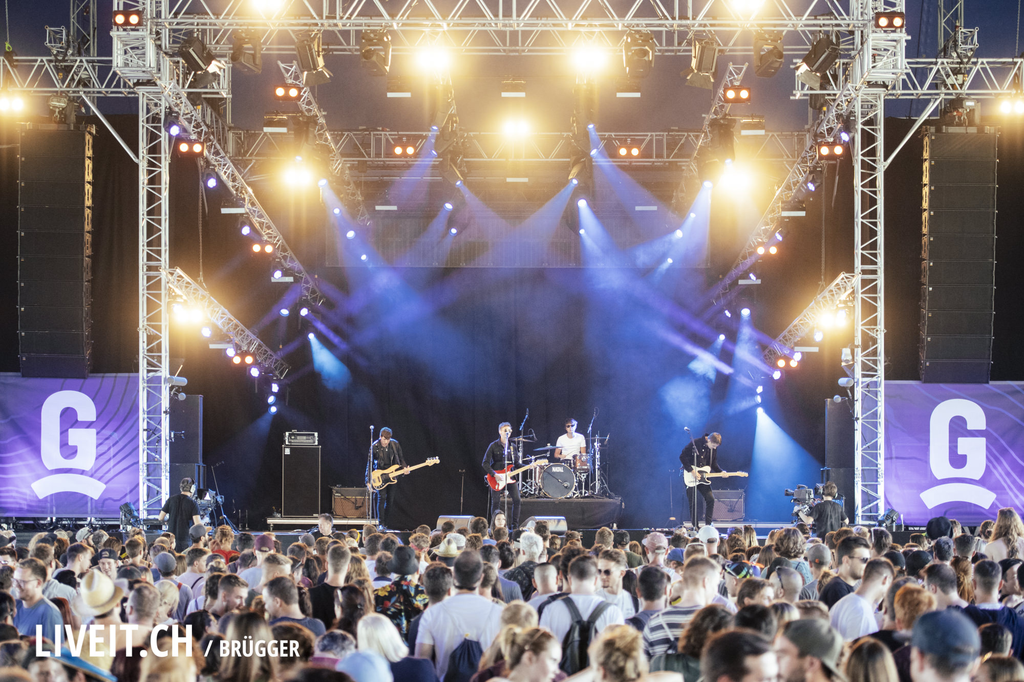 The Sherlocks am Gurtenfestival 2019