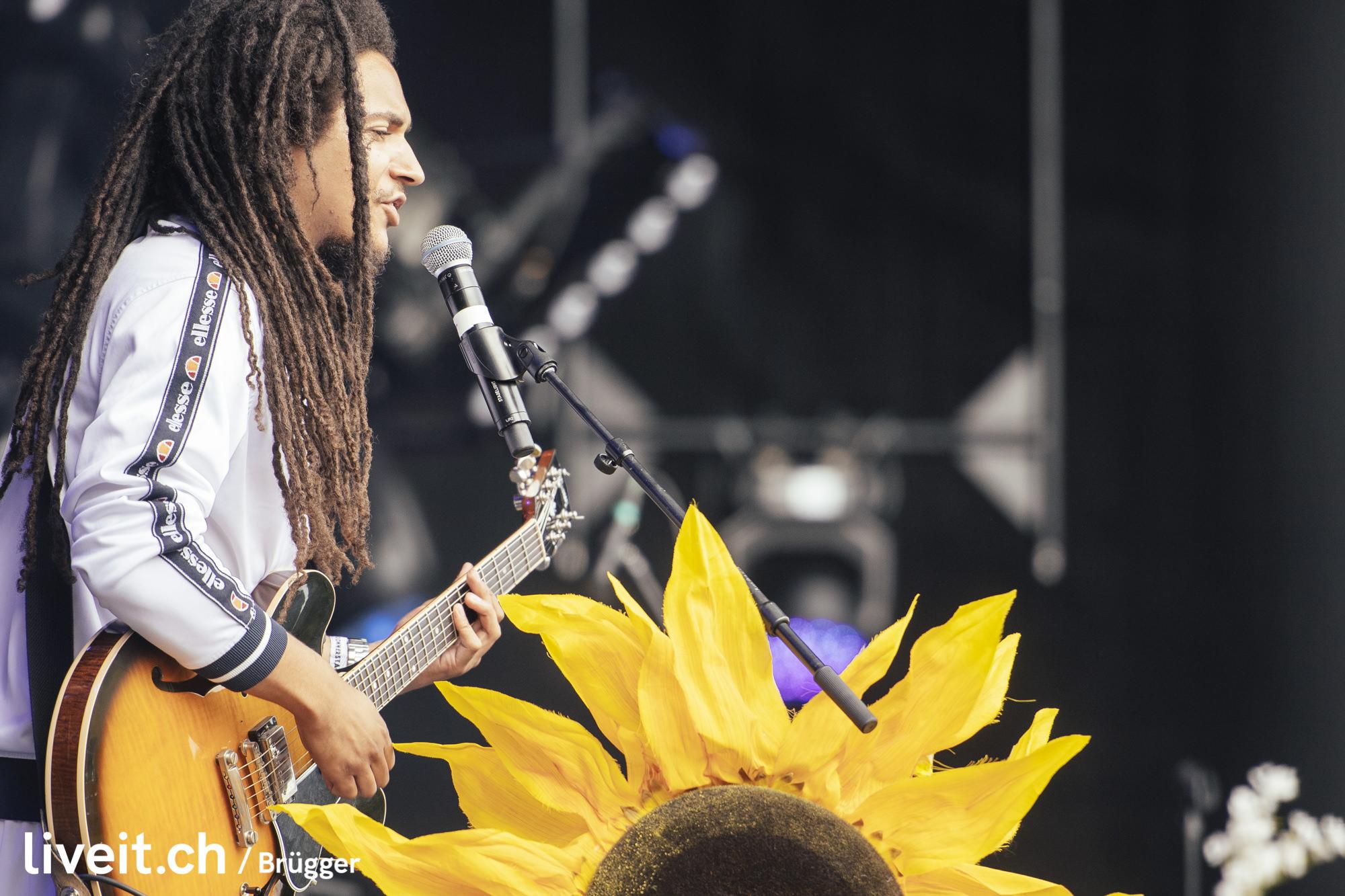 Iris Gold am Gurtenfestival 2019