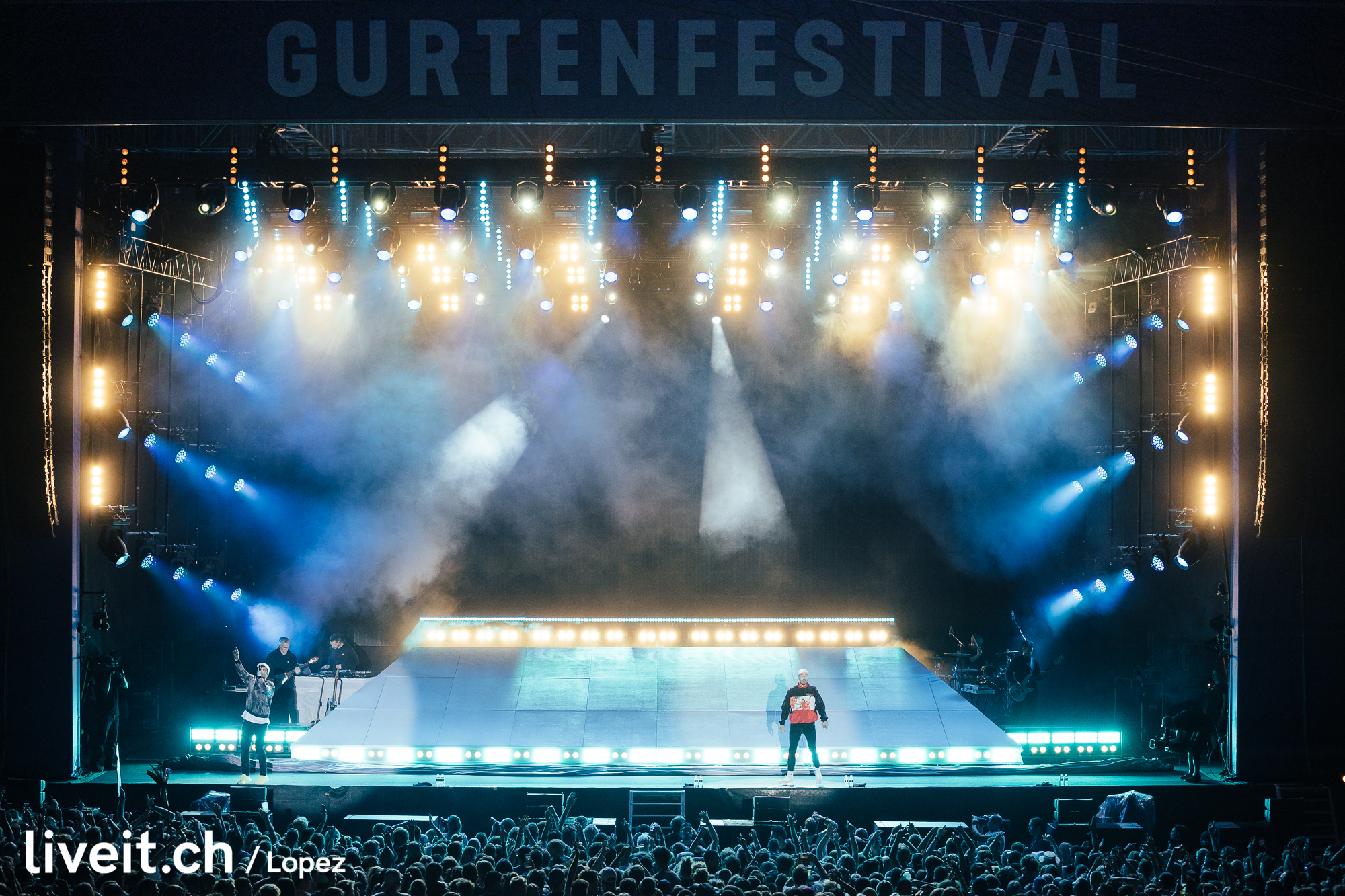 Marteria & Casper am Gurtenfestival 2019