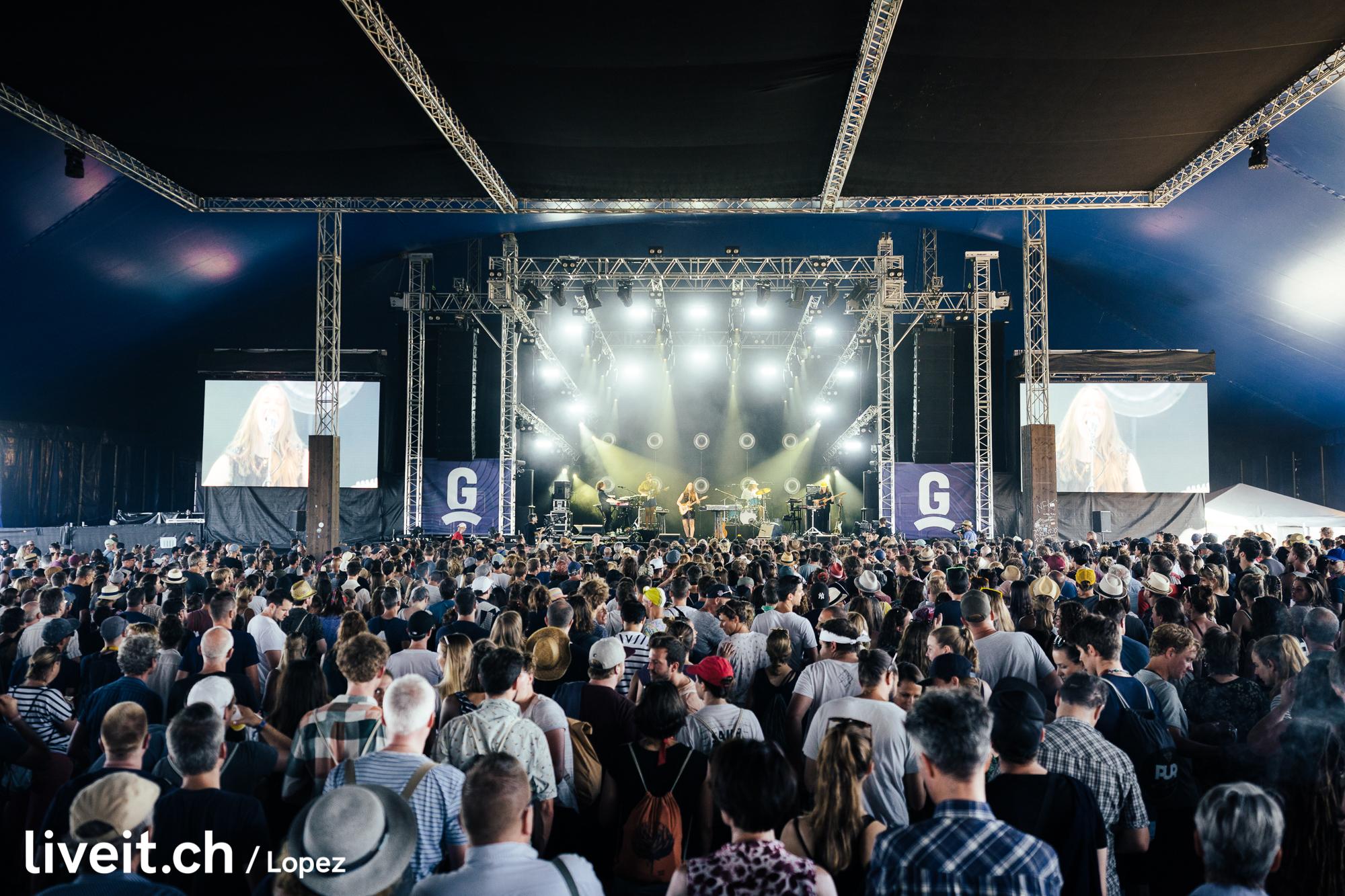 Sophie Hunger am Gurtenfestival 2019