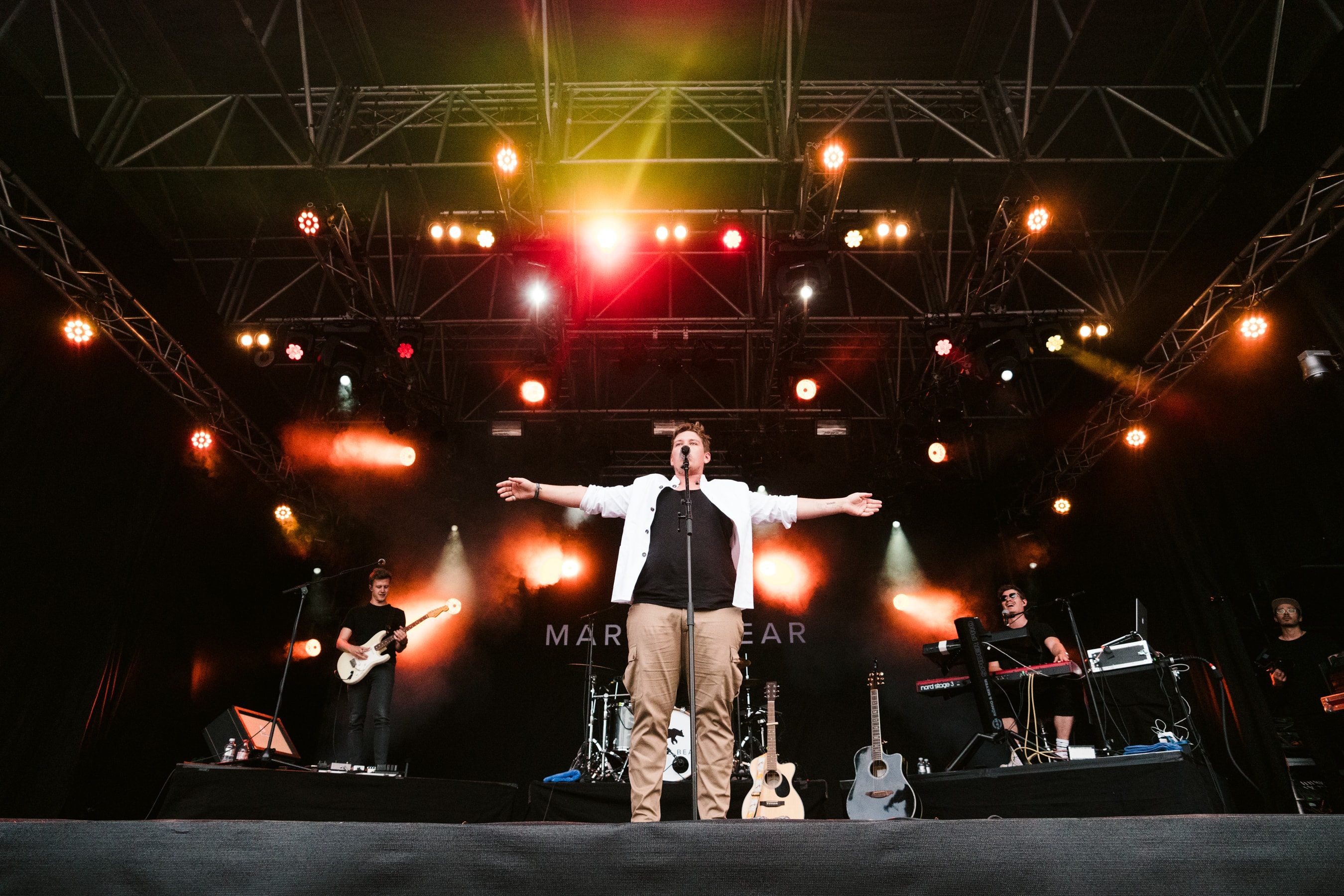 Marius Baer am Gurtenfestival