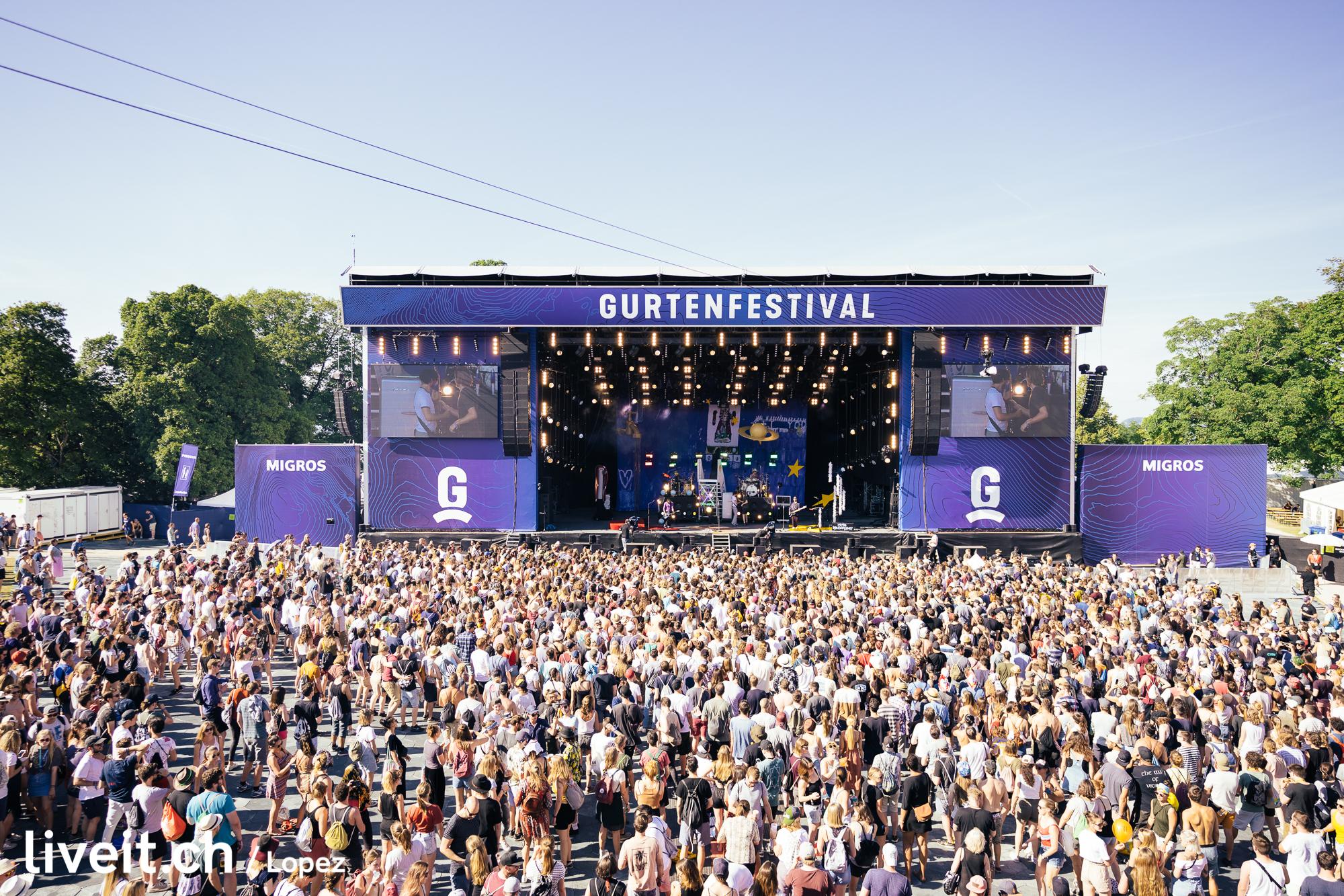 Bilderbuch am Gurtenfestival 2019