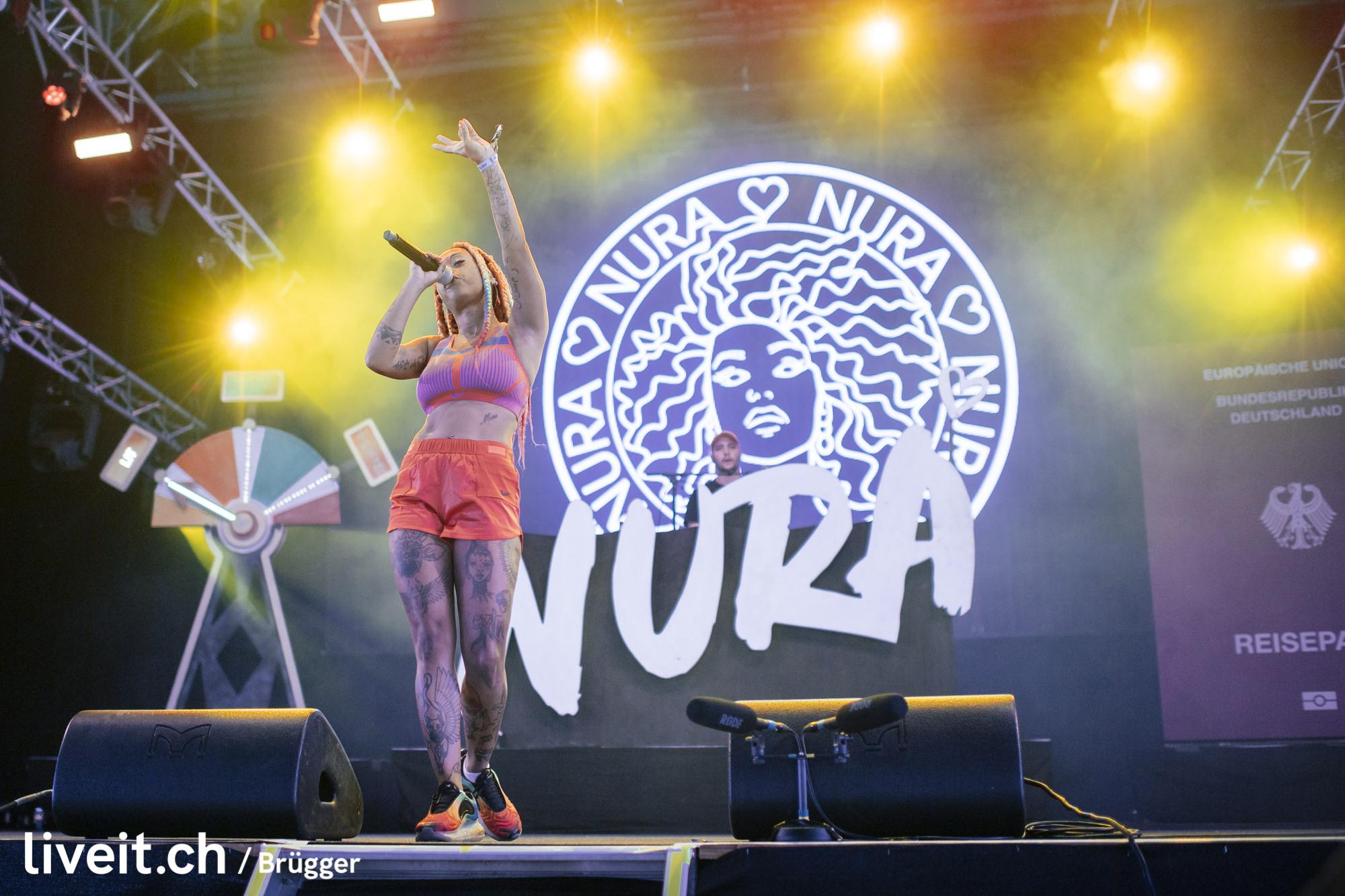 Nura am Gurtenfestival 2019