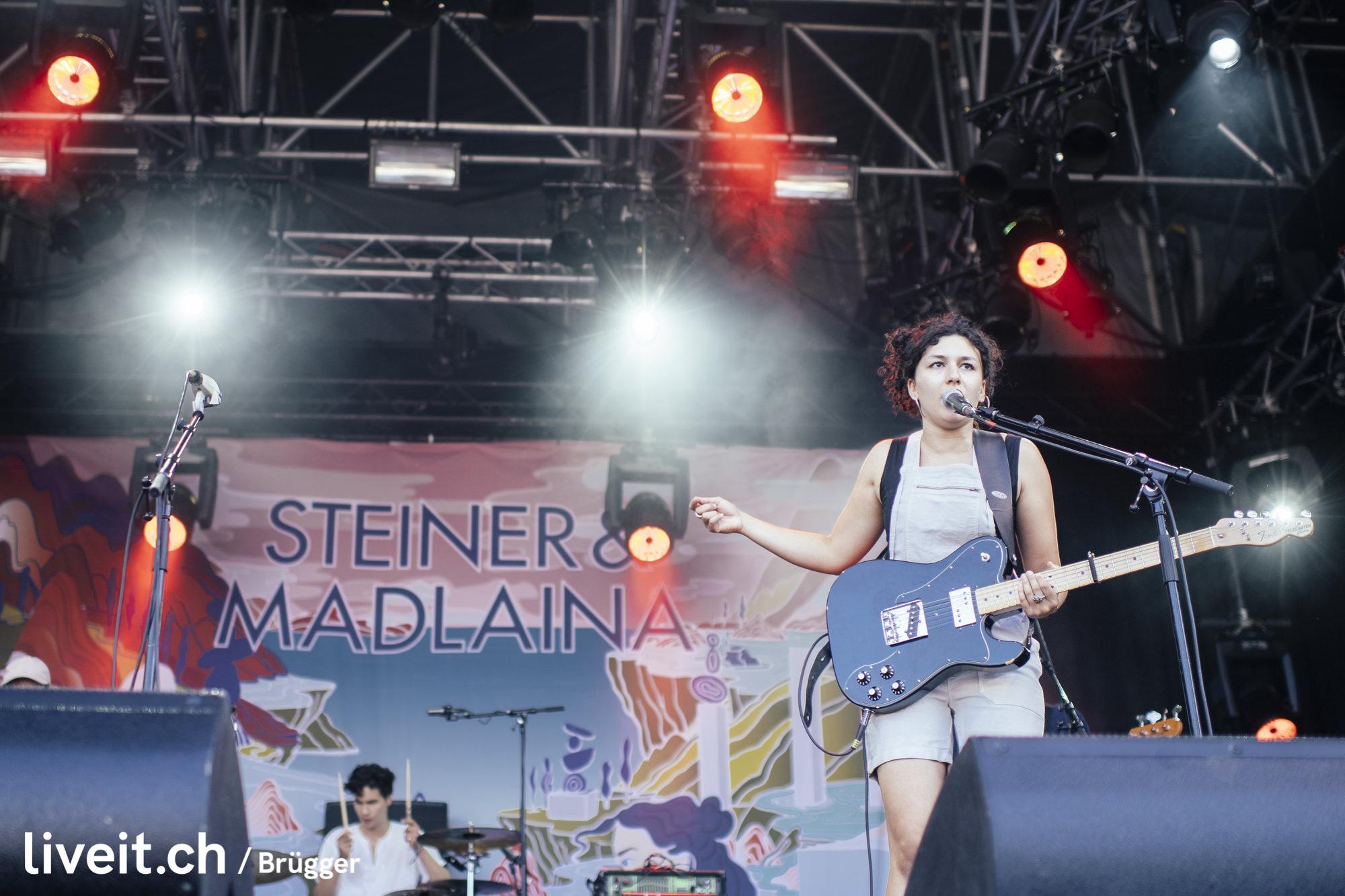 Steiner & Madlaina am Gurtenfestival 2019