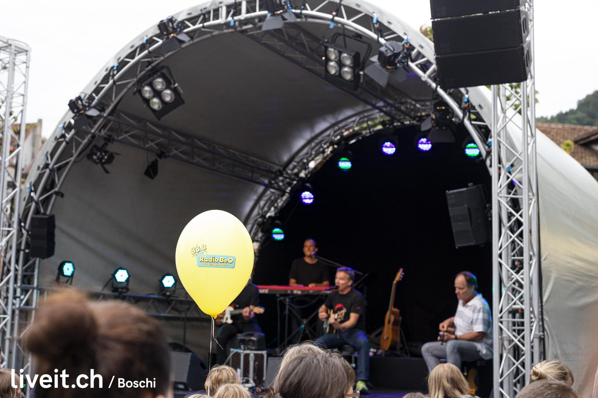 Ueli Schmezer & Chinderland Band am Thunfest 2019 (liveit.ch/boschi)