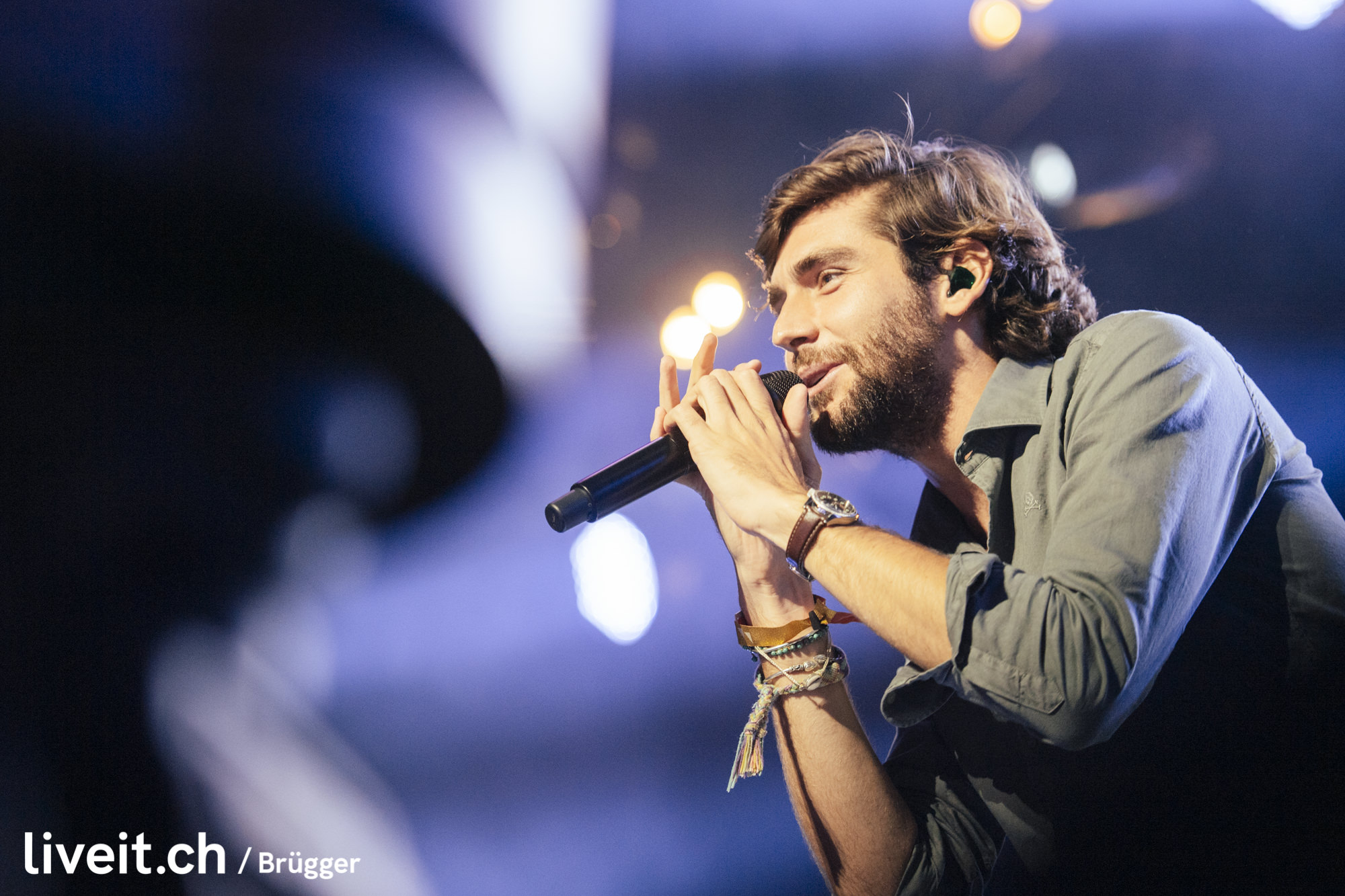 Alvaro Soler am Seaside Festival 2019