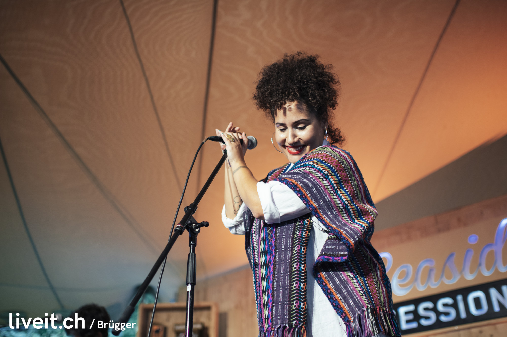 Annie Goodchild am Seaside Festival 2019