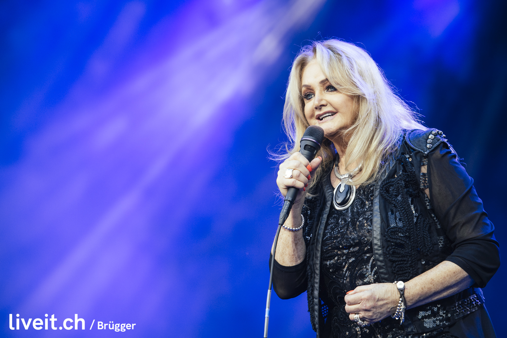 Bonnie Tyler am Seaside Festival 2019