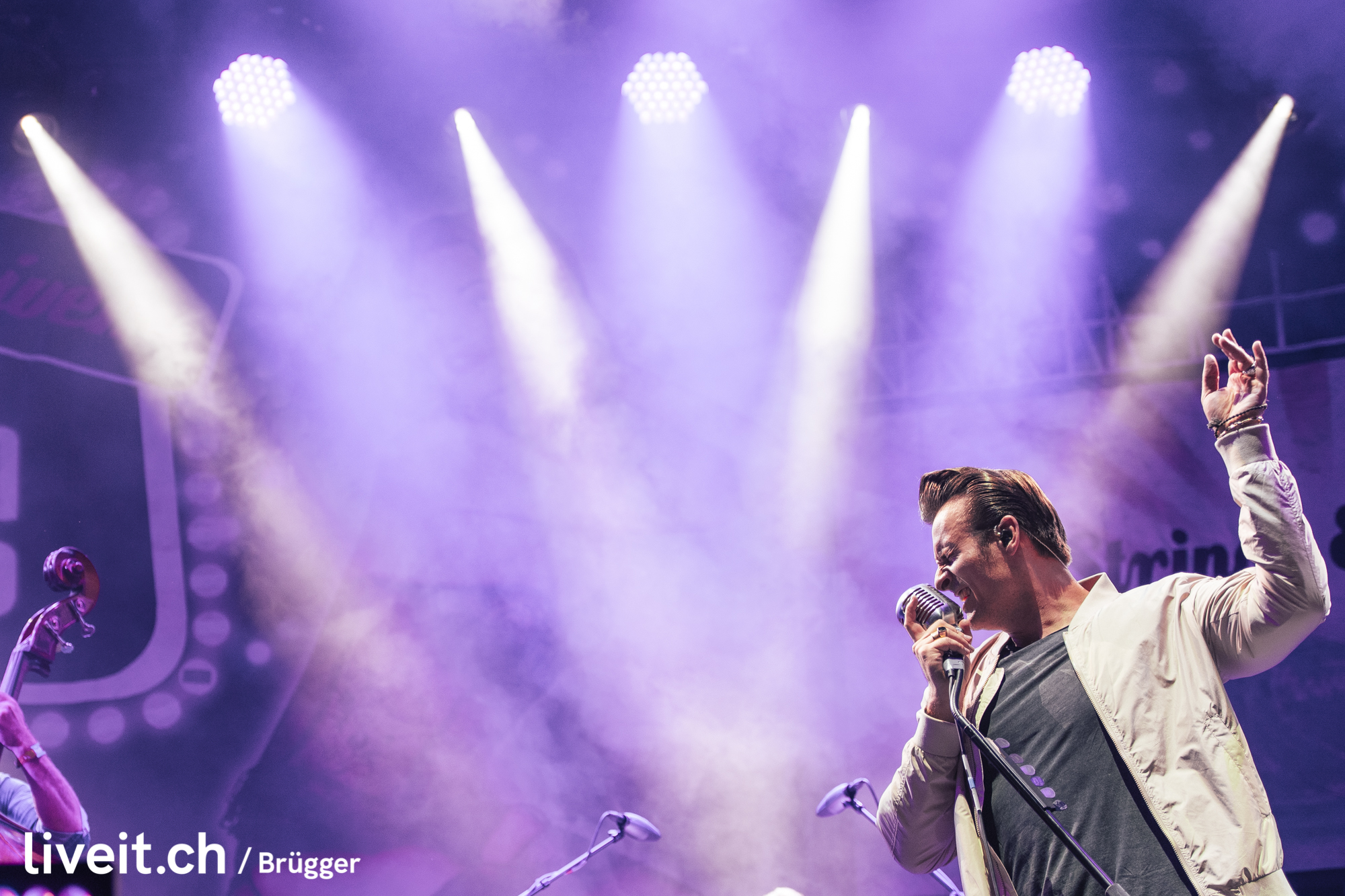 The Baseballs am Seaside Festival 2019