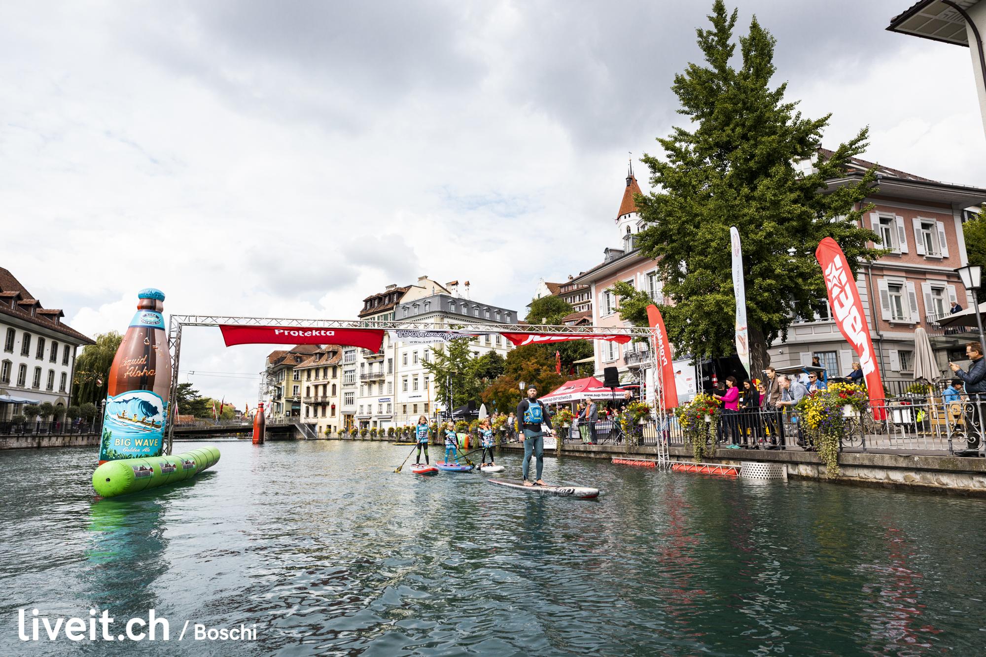 SUPTourSchweiz Thunersee 2019 am Aarequai in Thun(liveit.ch/boschi)