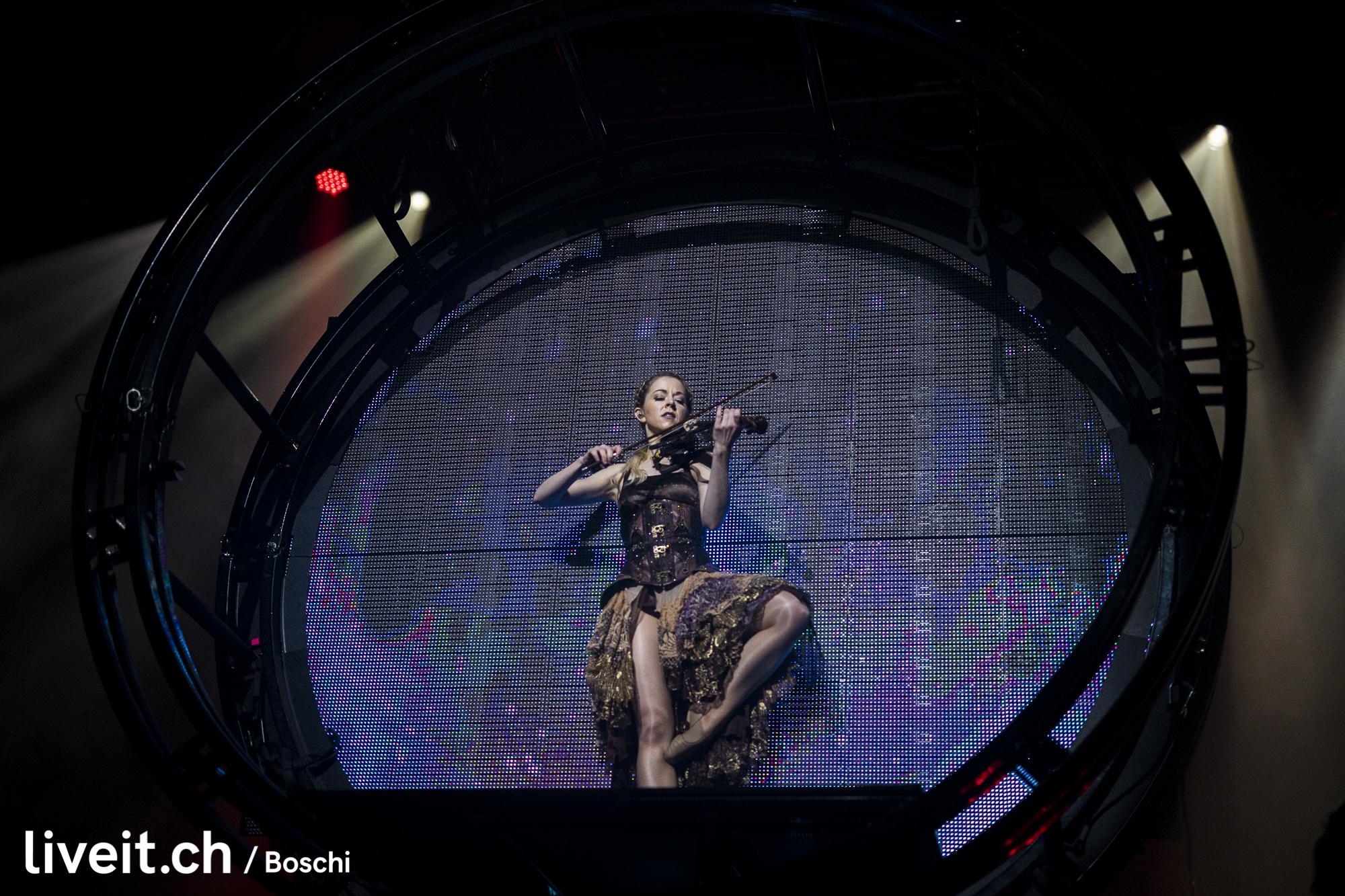 Lindsey Stirling in der Samsunghall Zürich. (liveit.ch/boschi)