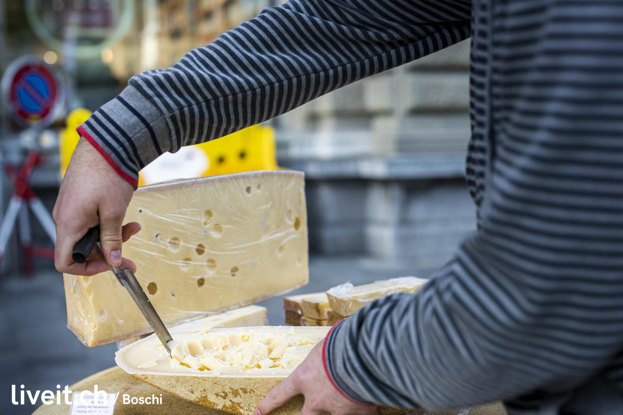 Cheesefestival am Samstagmorgen in Thun. (liveit.ch/boschi)