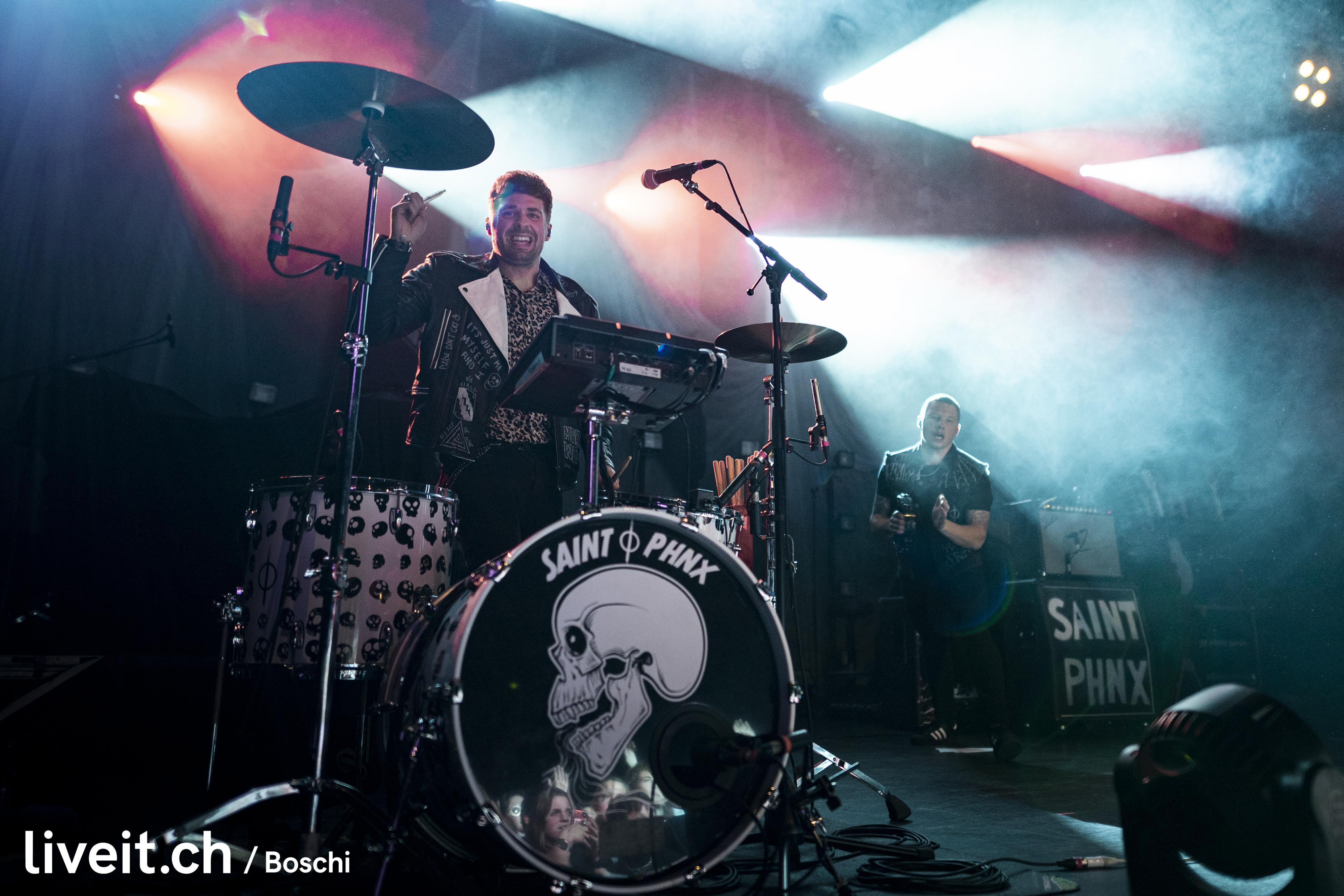 SaintPHNX als Vorband für Yungblud im ausverkauften X-TRA Zürich..(liveit.ch/boschi)