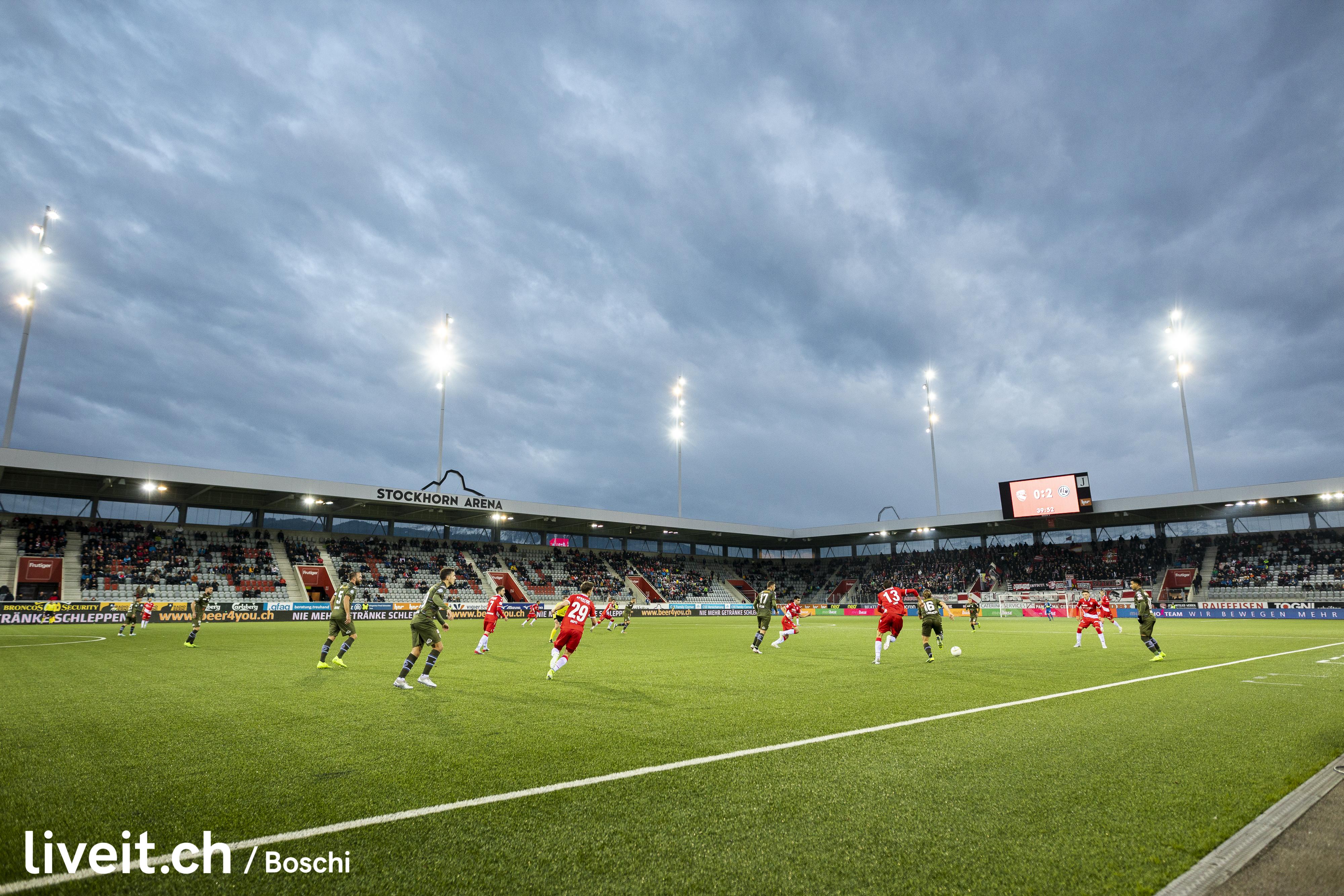 Fc Thun spielt gegen den Fc Lugano in der Stockhornarena Thun.(liveit.ch/boschi)