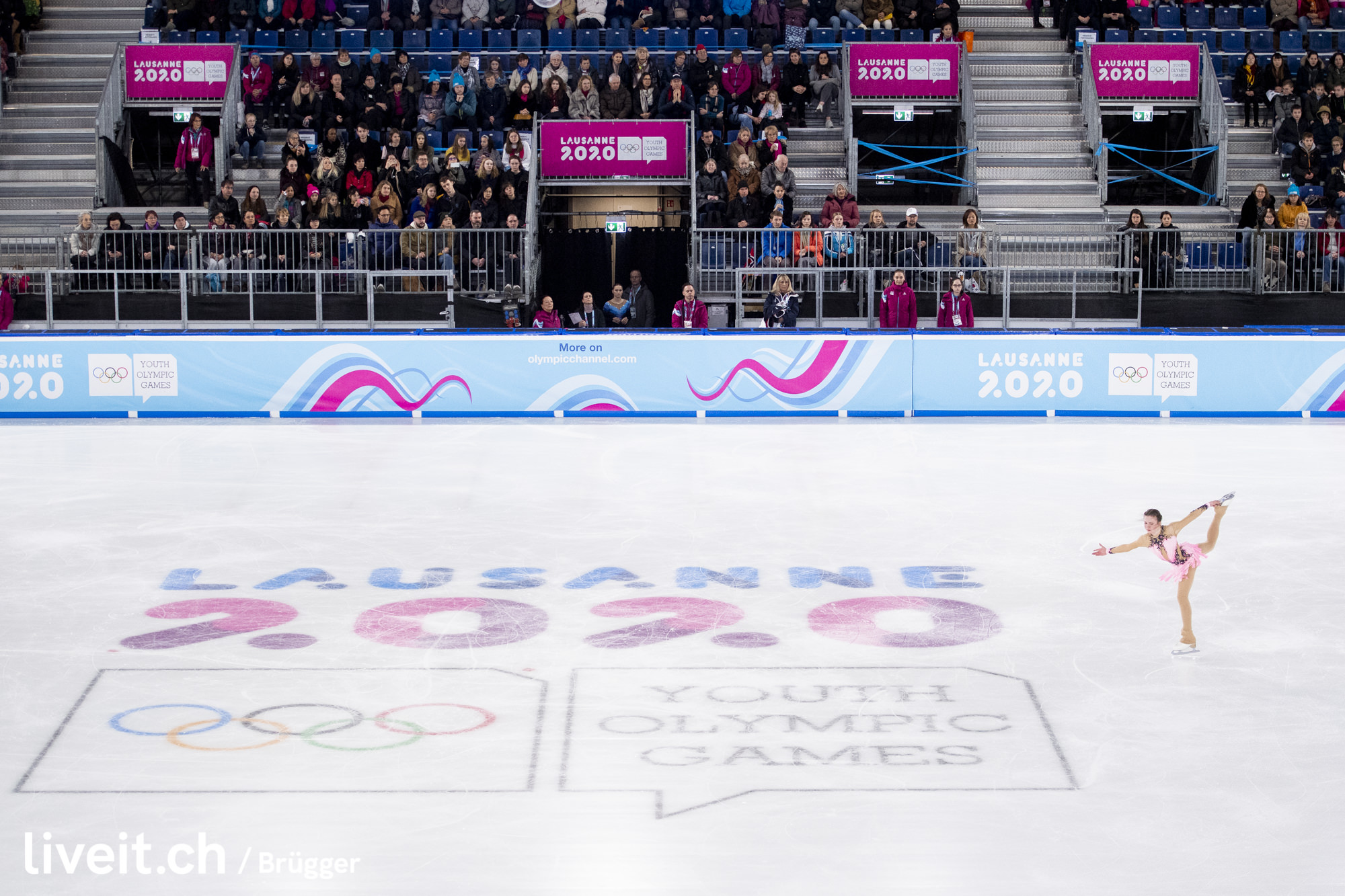 SWITZERLAND LAUSANNE YOG LAUSANNE2020 WOMEN SINGLE SKATING FREE SKATING