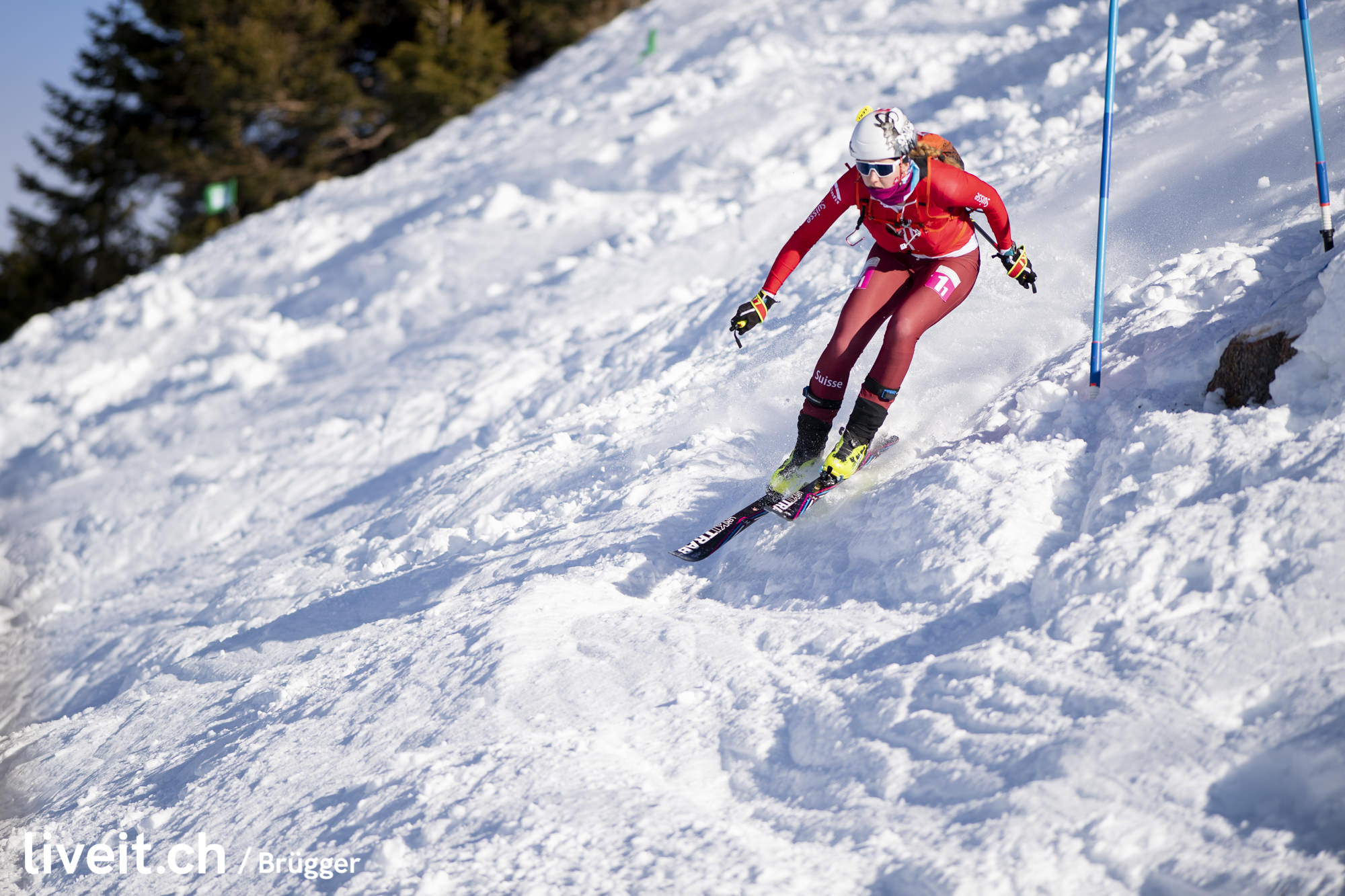 SWITZERLAND VILLARS YOG LAUSANNE2020 SKI MOUNTAINEERING MIXED RELAY