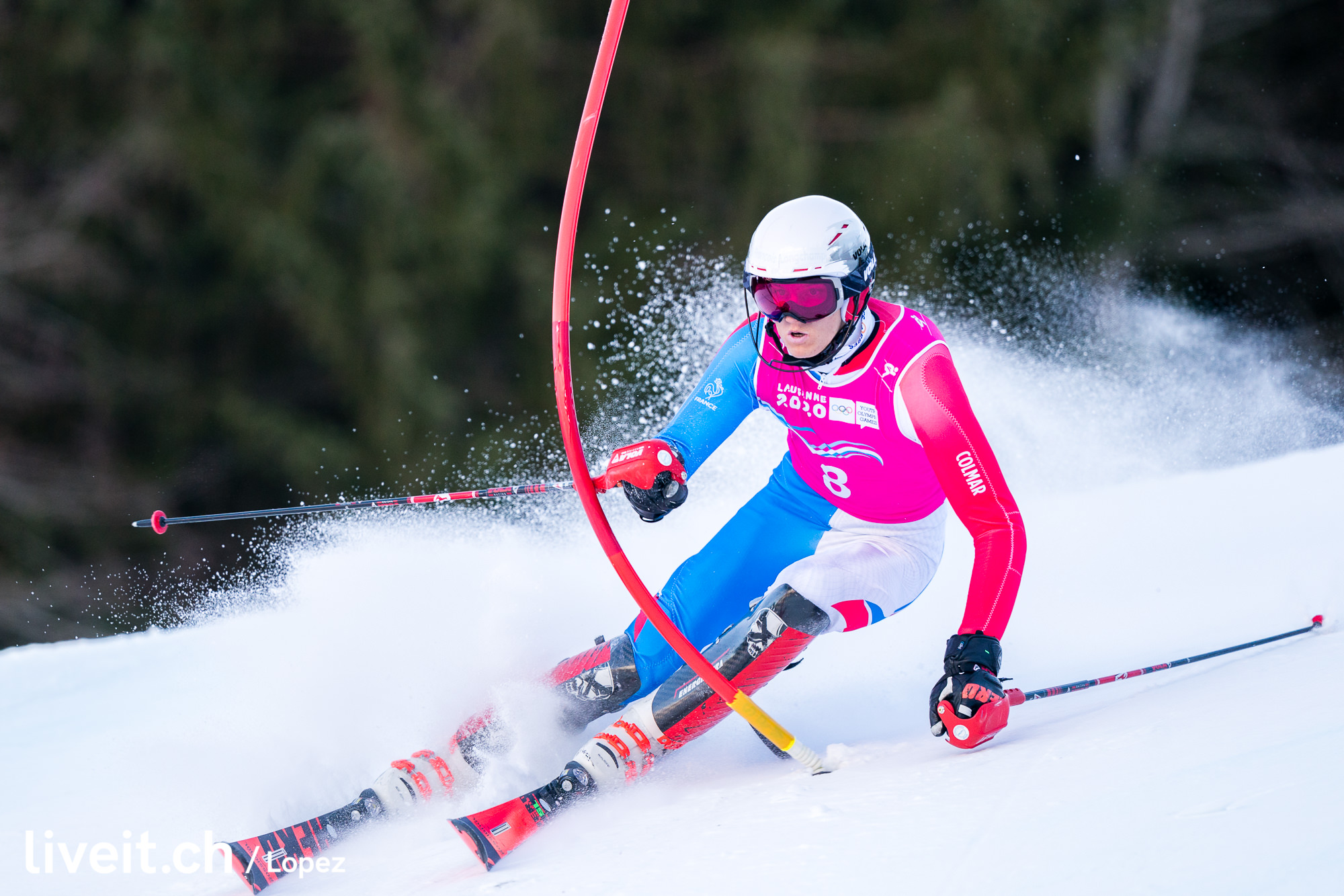 SCHWEIZ SKI ALPIN YOUTH OLYMPIC GAMES