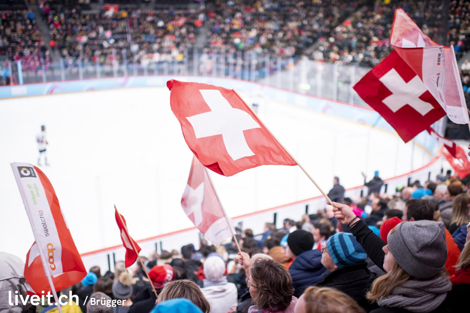 SWITZERLAND LAUSANNE YOG LAUSANNE2020 MEN ICE HOCKEY SWITZERLAND USA
