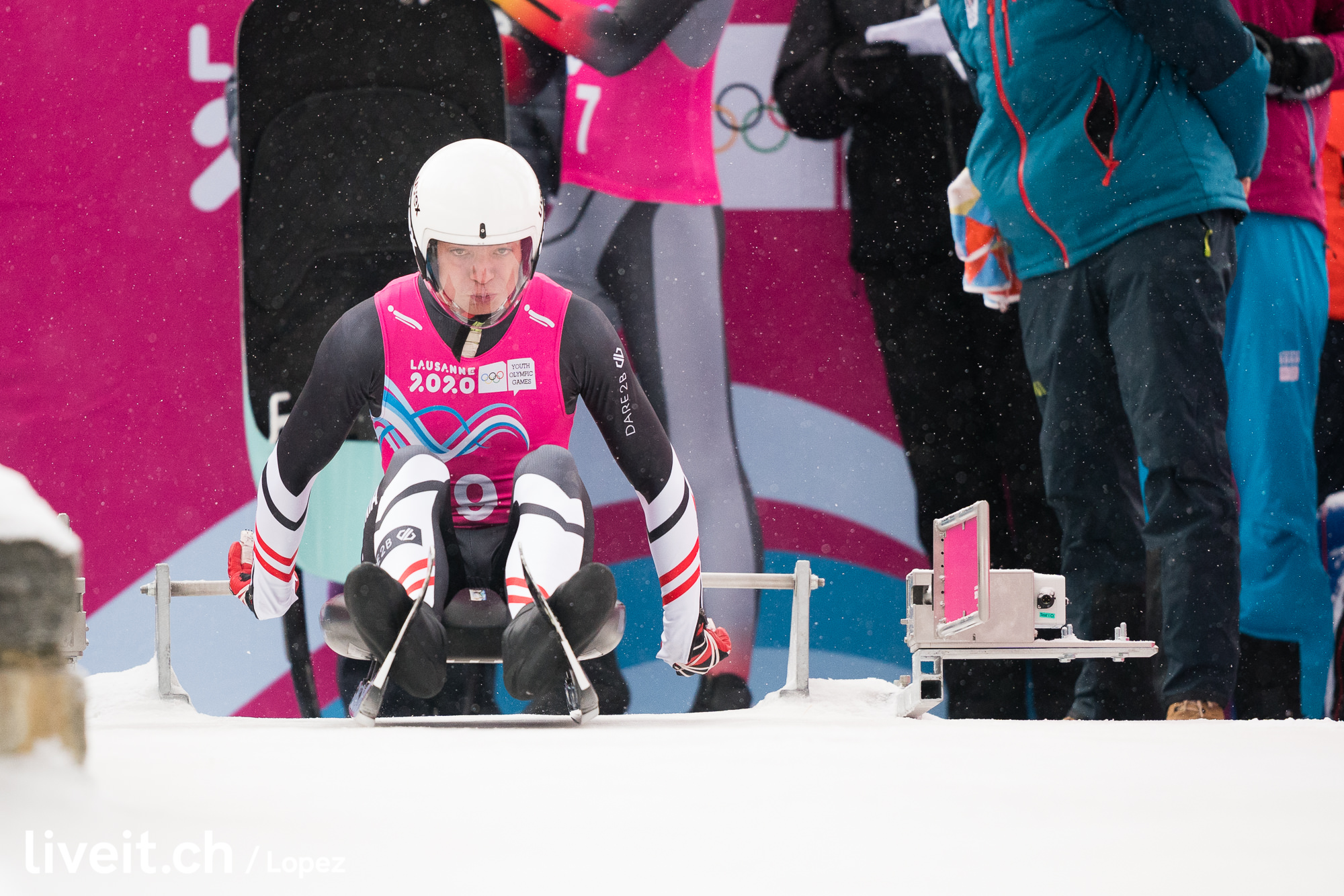 SCHWEIZ LUGE YOUTH OLYMPIC GAMES