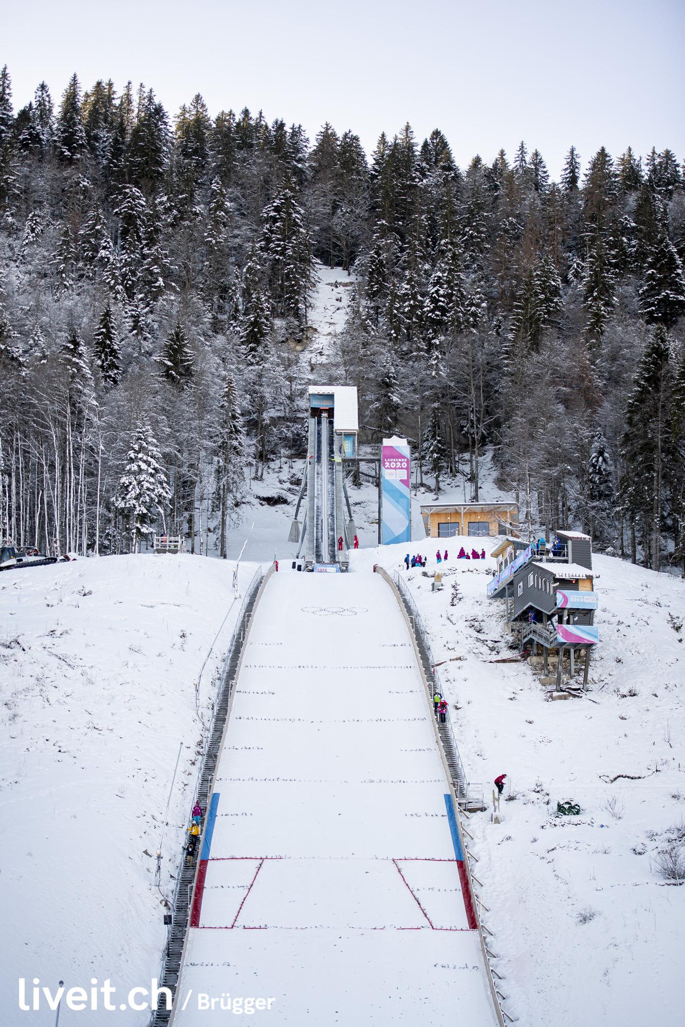 SWITZERLAND LES TUFFES YOG LAUSANNE2020 SKI JUMPING